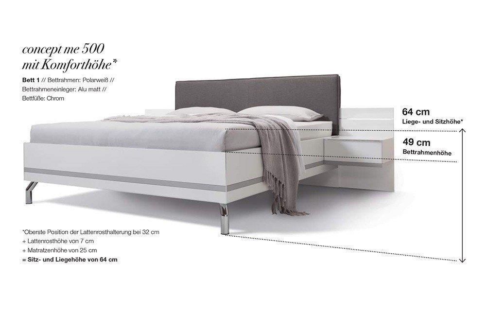 Nolte concept me Doppelbett 1 | Möbel Letz - Ihr Online-Shop