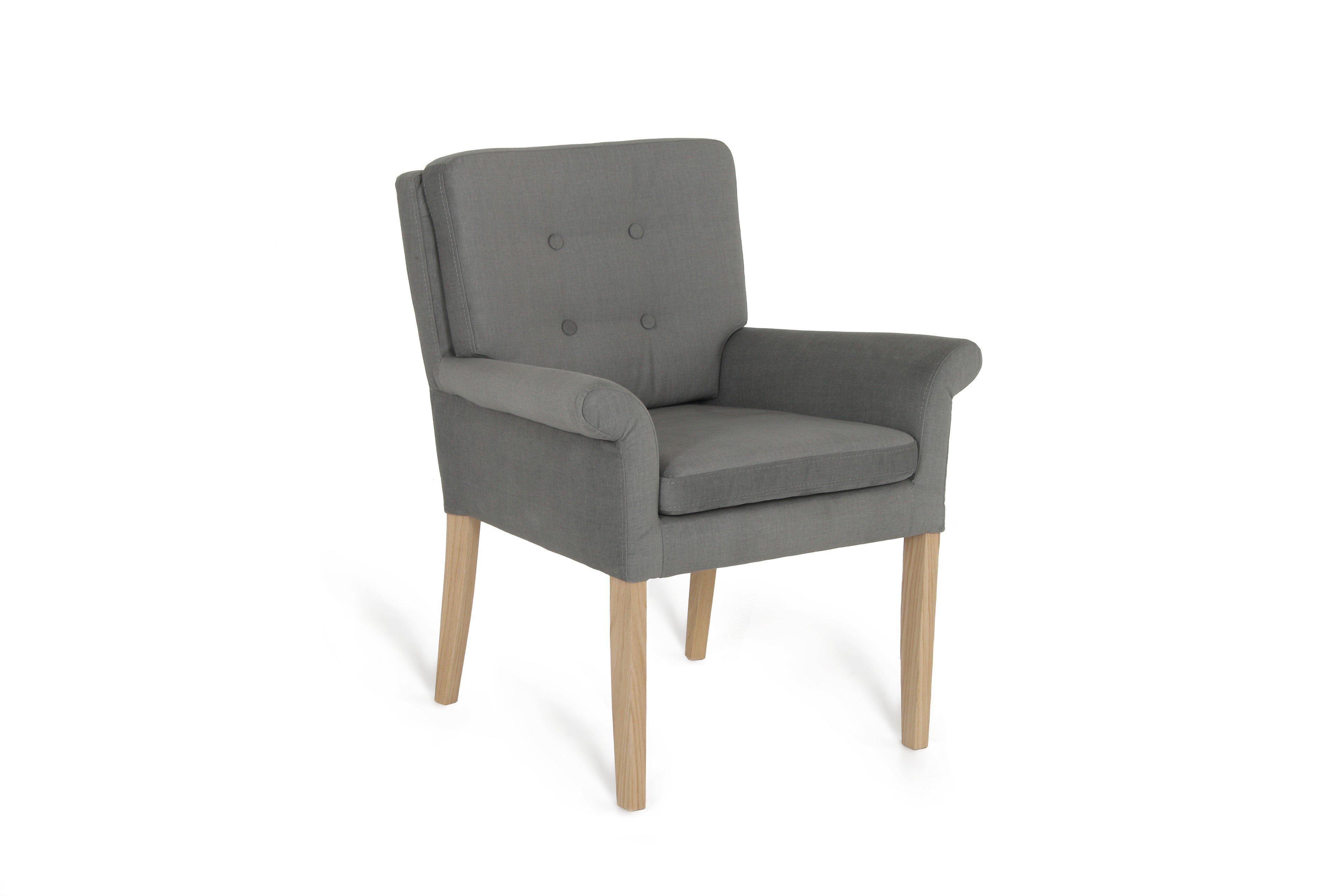 skandinavischer armlehnenstuhl motala in graphit m bel. Black Bedroom Furniture Sets. Home Design Ideas
