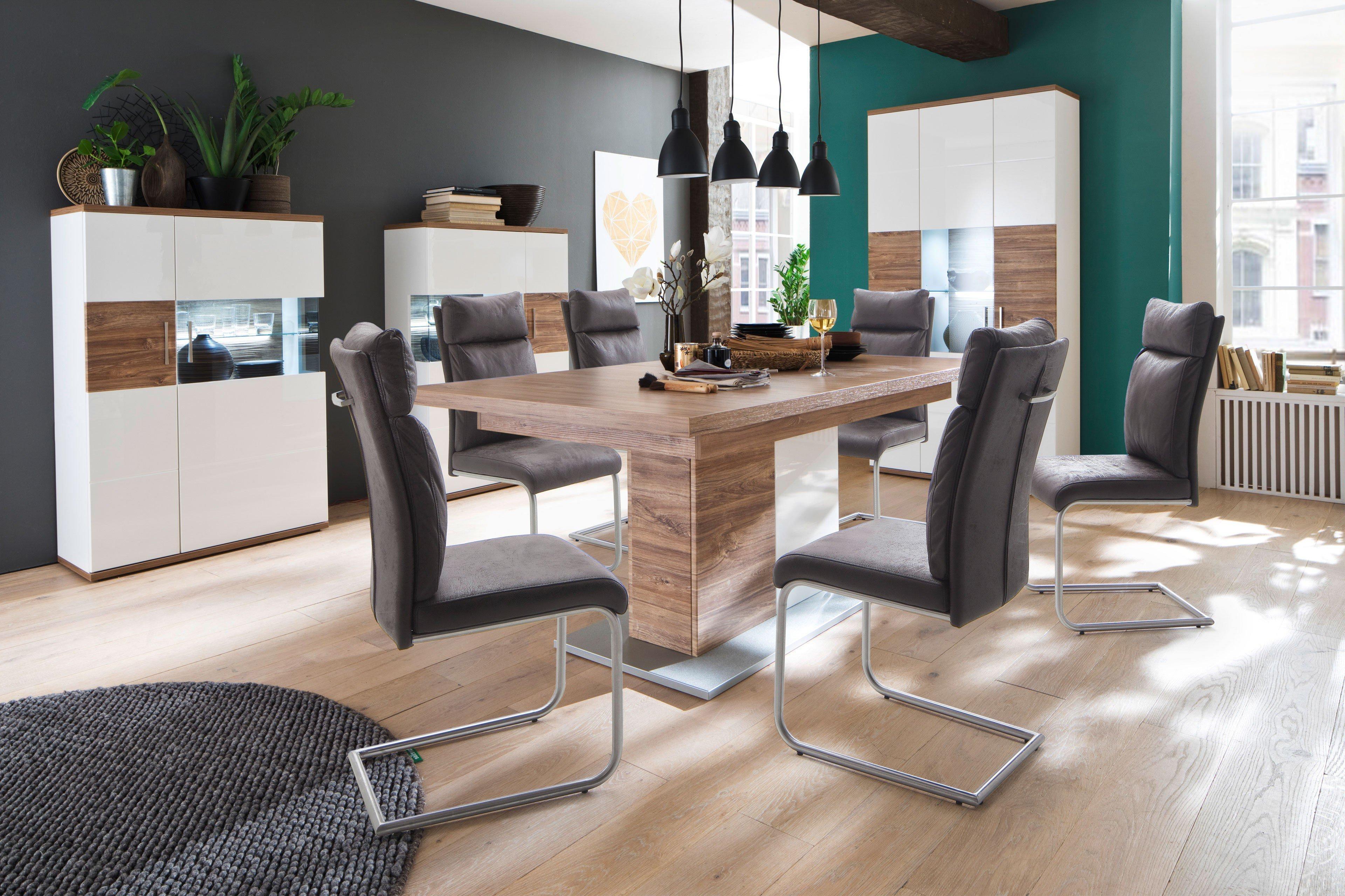Mca Esstisch Luzern Sterling Oak Weiß Möbel Letz Ihr Online Shop