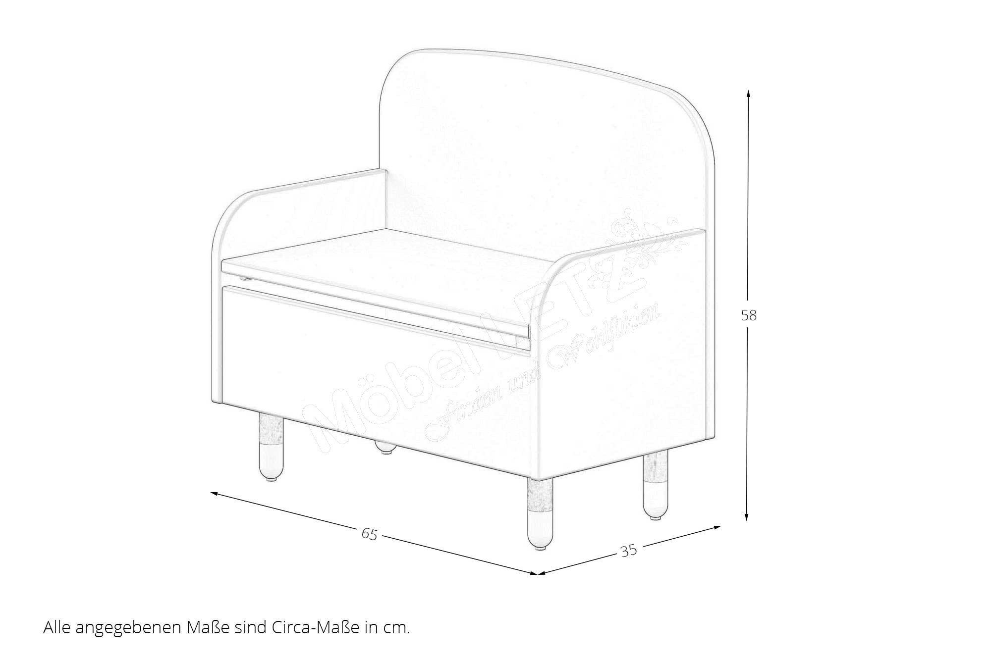 sitzbank f r kinder wicki von skandinavische m bel m bel letz ihr online shop. Black Bedroom Furniture Sets. Home Design Ideas