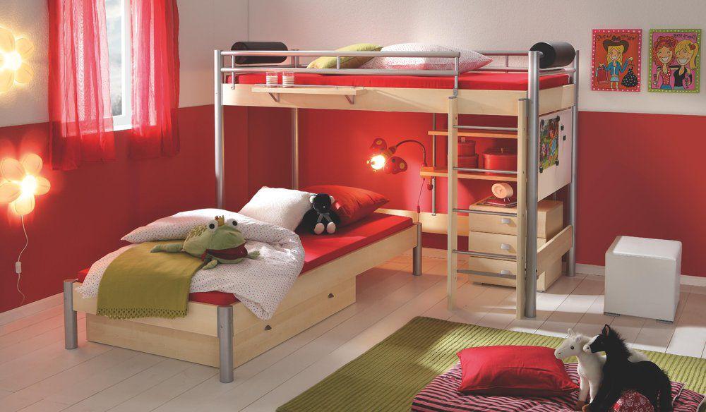 Etagenbett Nackenrolle : Space concept von hasena midi 305 eck etagenbett mit leiter. möbel