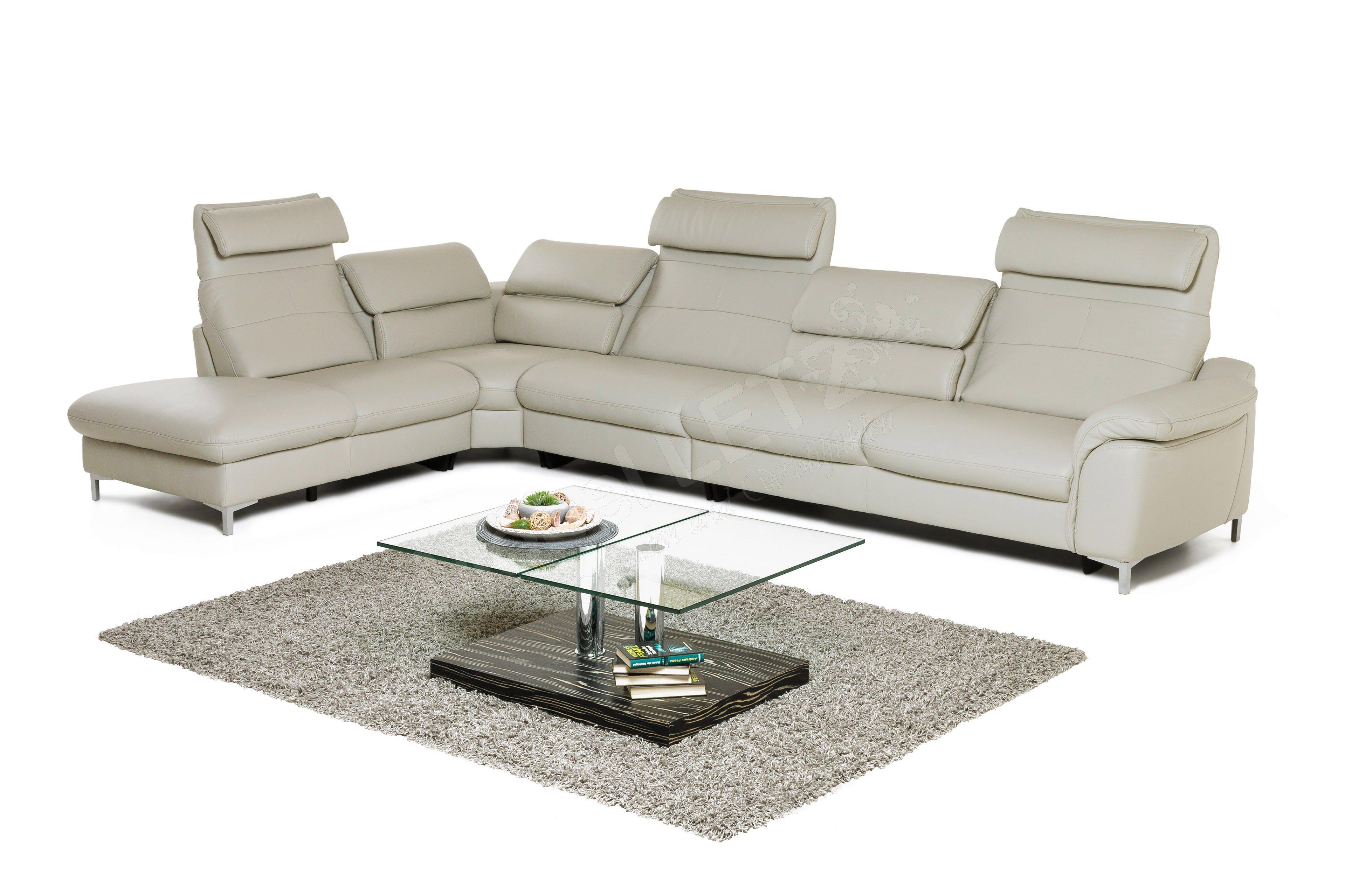 hukla rl1656 eckgarnitur in hellgrau m bel letz ihr. Black Bedroom Furniture Sets. Home Design Ideas