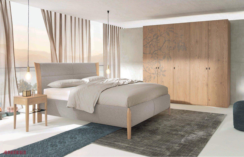 Mevisto Von ANREI   Schlafzimmer Set Asteiche Natur/ Silber