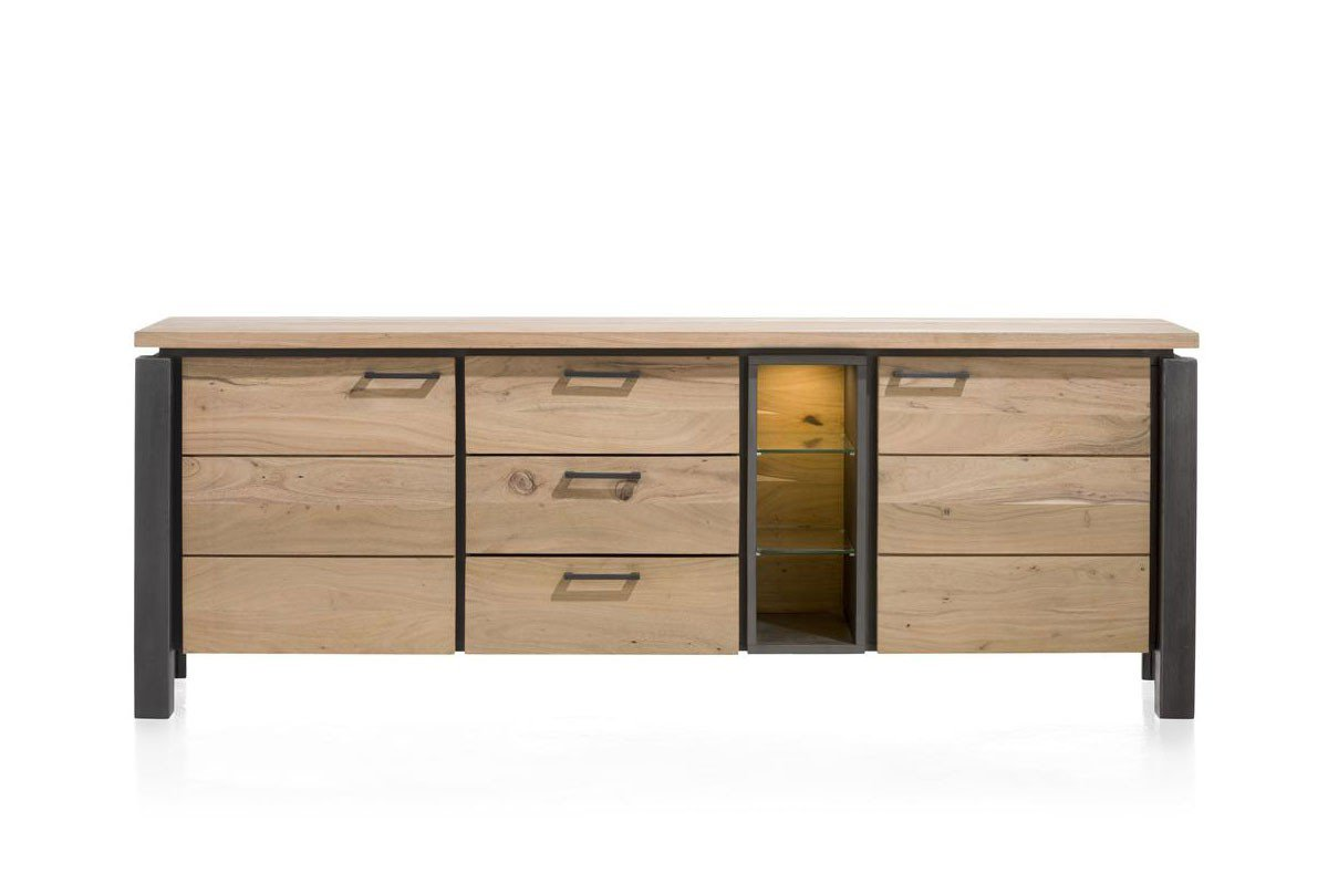 habufa sideboard charleston kikarholz m bel letz ihr online shop. Black Bedroom Furniture Sets. Home Design Ideas