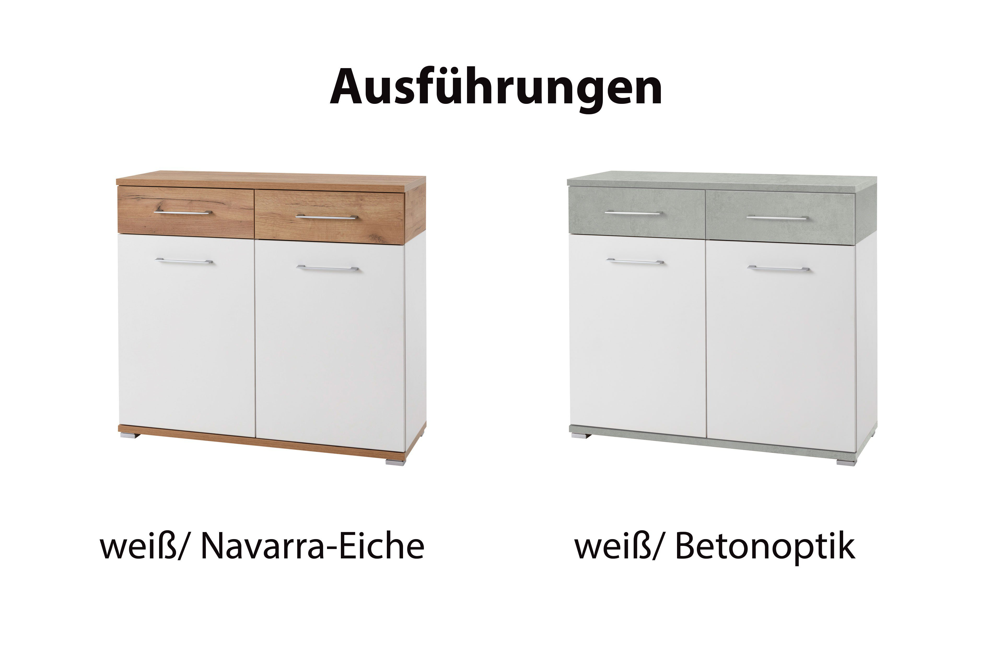 germania kommode gw topix wei beton m bel letz ihr online shop. Black Bedroom Furniture Sets. Home Design Ideas