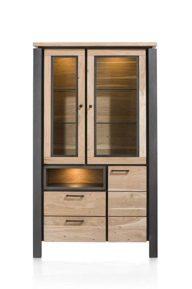 habufa vitrine charleston kikarholz m bel letz ihr online shop. Black Bedroom Furniture Sets. Home Design Ideas