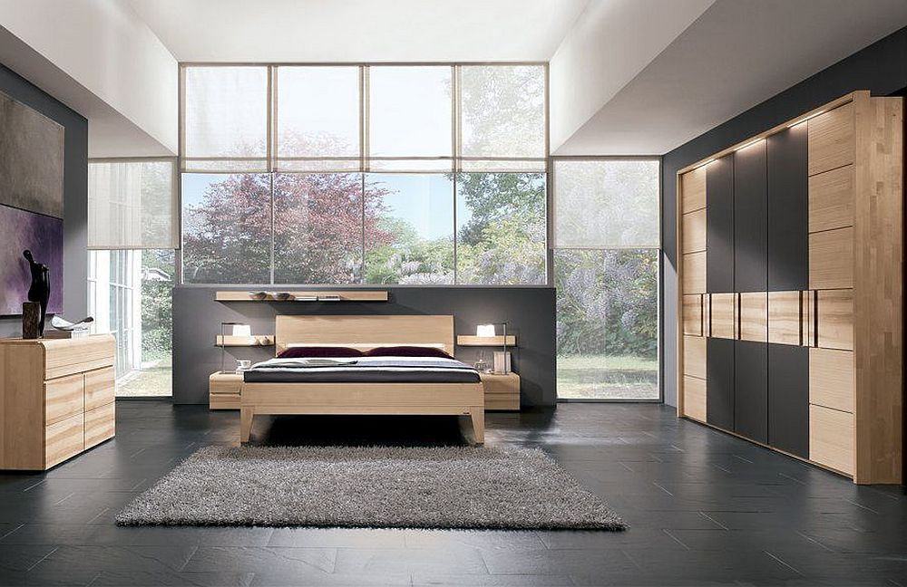 schlafzimmer alba von thielemeyer rotkernbuche massiv. Black Bedroom Furniture Sets. Home Design Ideas