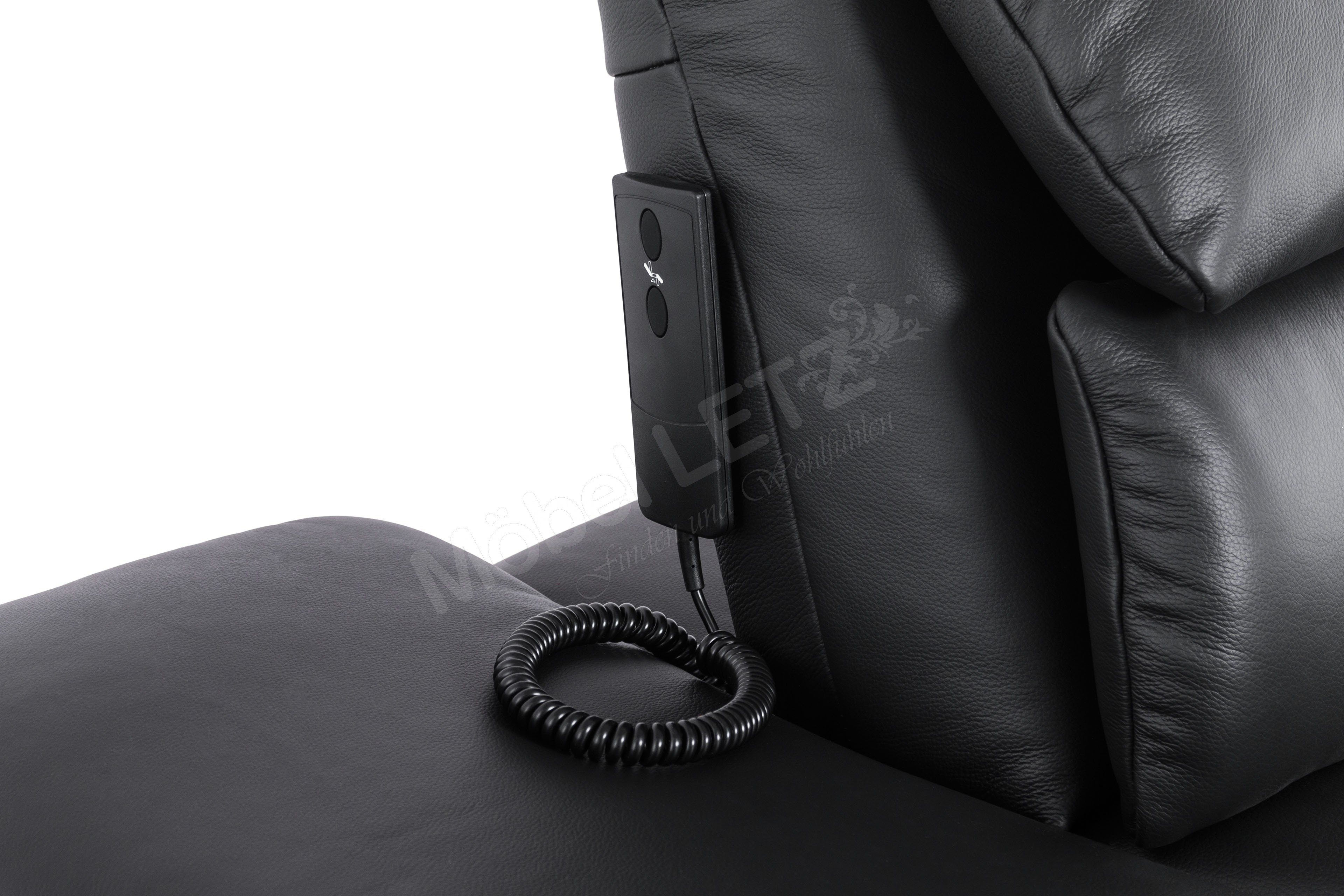 pm oelsa san diego polstergarnitur in schwarz m bel letz. Black Bedroom Furniture Sets. Home Design Ideas