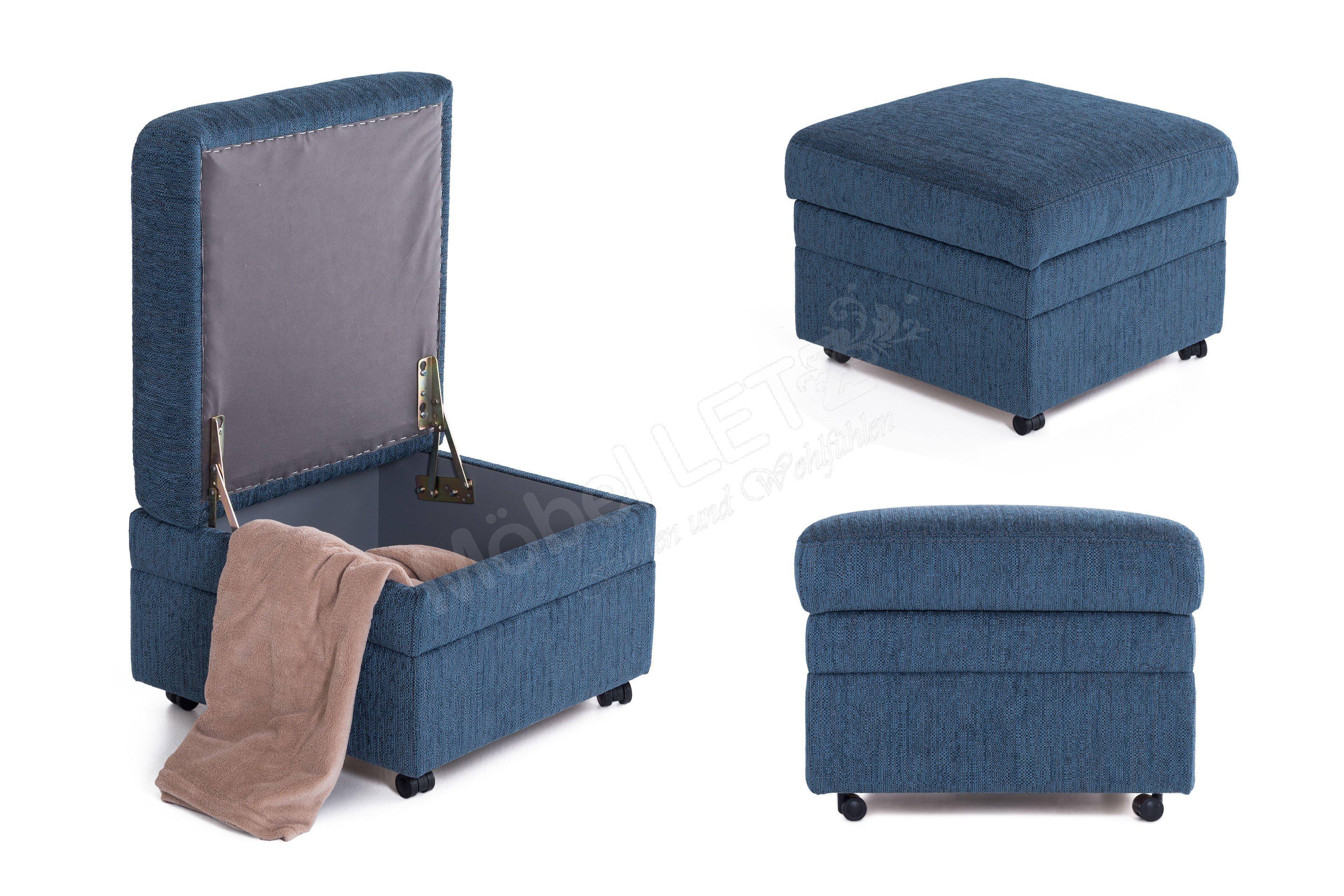pm oelsa amica polstergarnitur in dunkelblau m bel letz. Black Bedroom Furniture Sets. Home Design Ideas