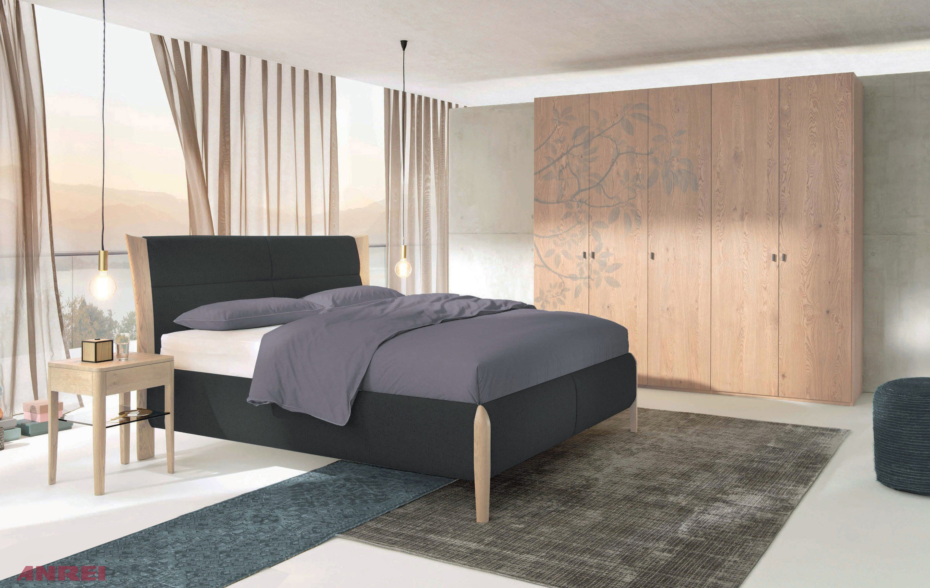 schlafzimmer set mevisto anrei asteiche wei m bel letz ihr online shop. Black Bedroom Furniture Sets. Home Design Ideas