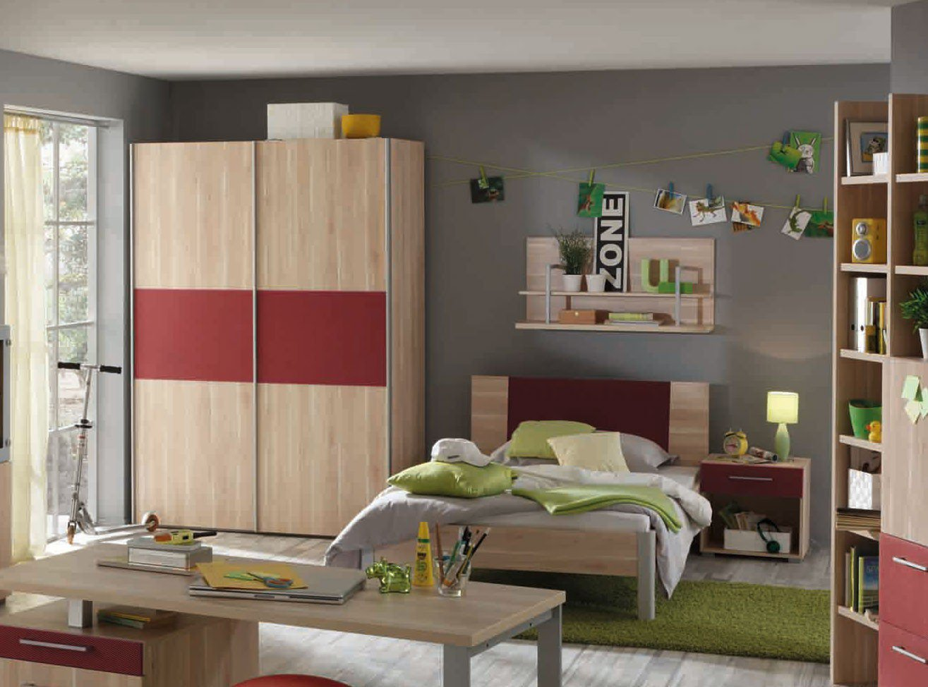 prenneis enduro plus jugendm bel apfelbaum rot m bel. Black Bedroom Furniture Sets. Home Design Ideas