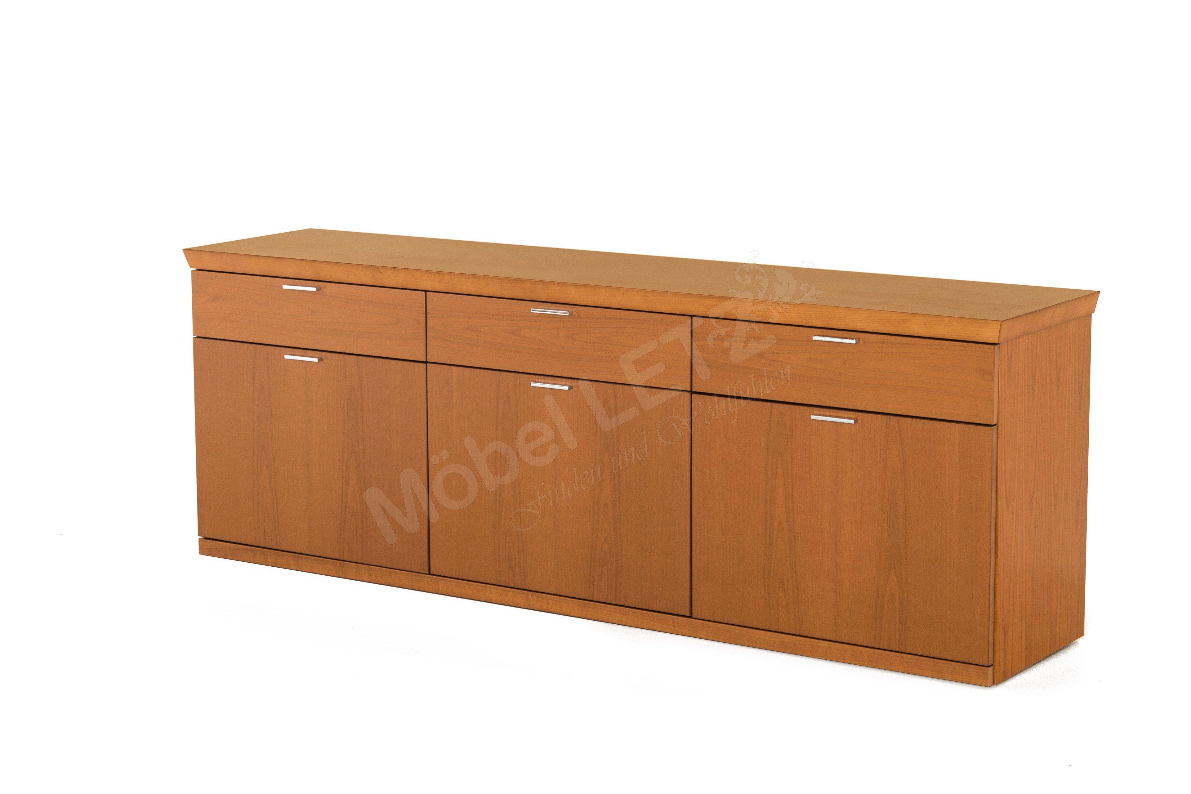 Rietberger Möbelwerke Sideboard Kirschbaum Furniert Möbel Letz