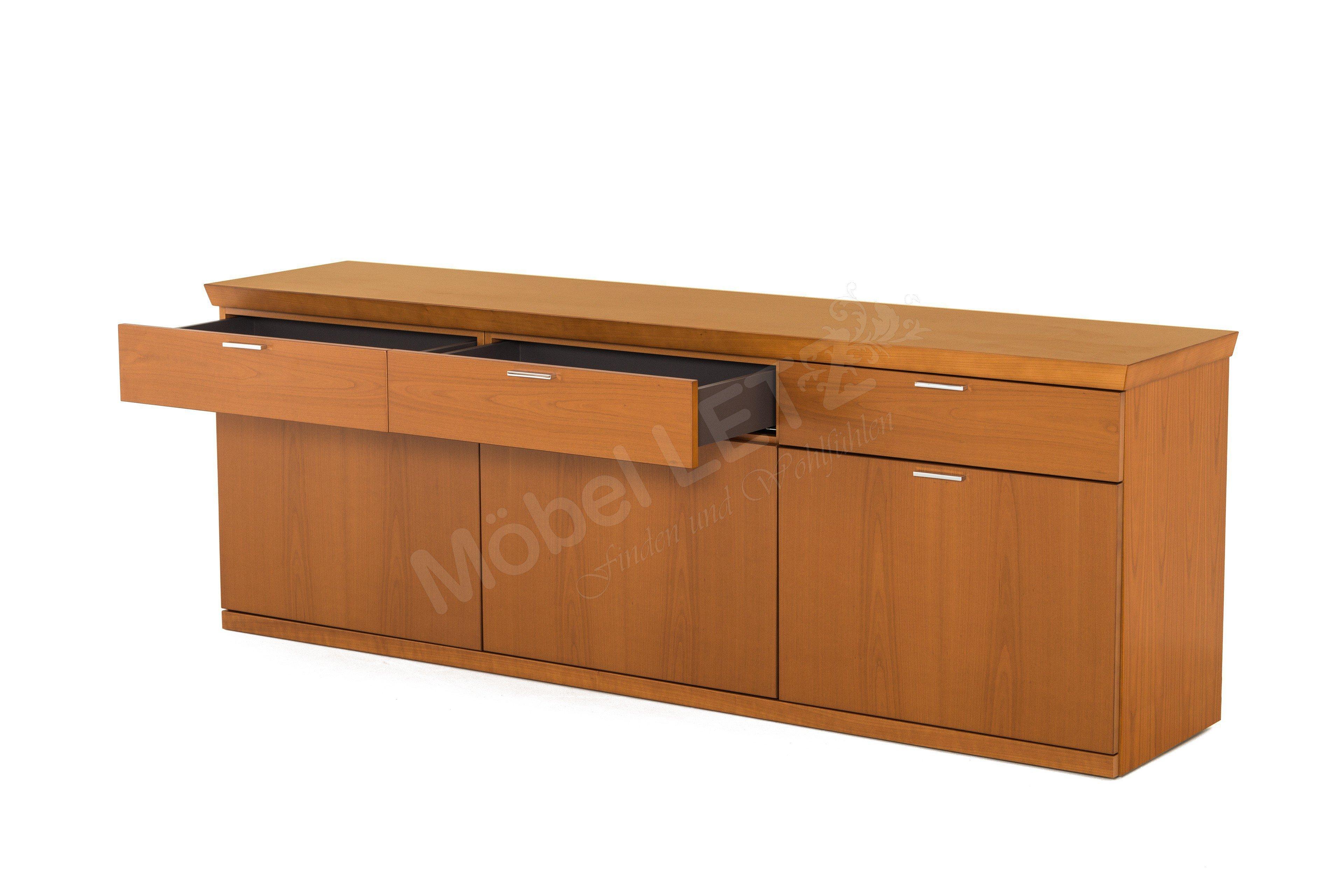 Rietberger m belwerke sideboard kirschbaum furniert for Sideboard kirschbaum