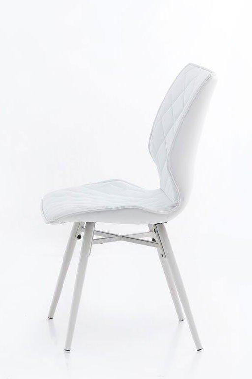 stuhl stockholm kunstleder wei von m bel letz ihr online shop. Black Bedroom Furniture Sets. Home Design Ideas