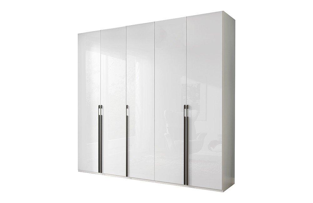 Kleiderschrank weiß hochglanz  Schrank weiß Hochglanz - Systema 25 von Wellemöbel | Möbel Letz ...