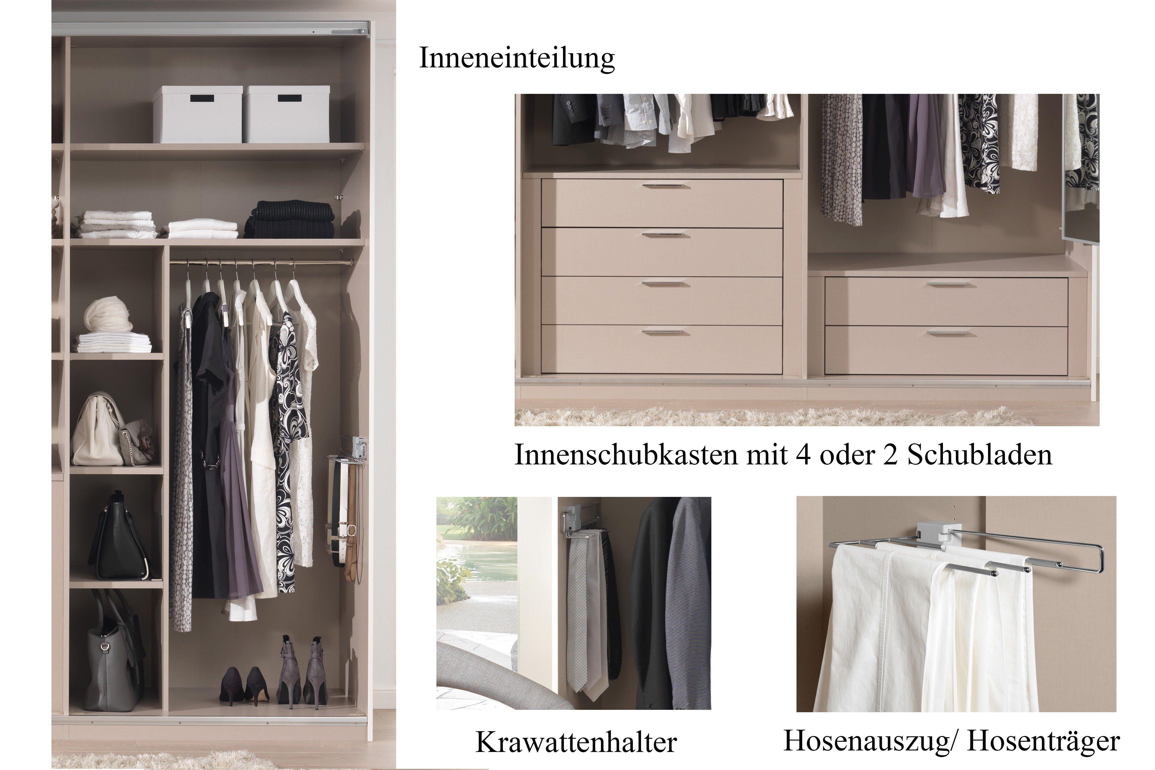 Systema 25 von Wellemöbel Schrank mit Spiegel | Möbel Letz - Ihr ...