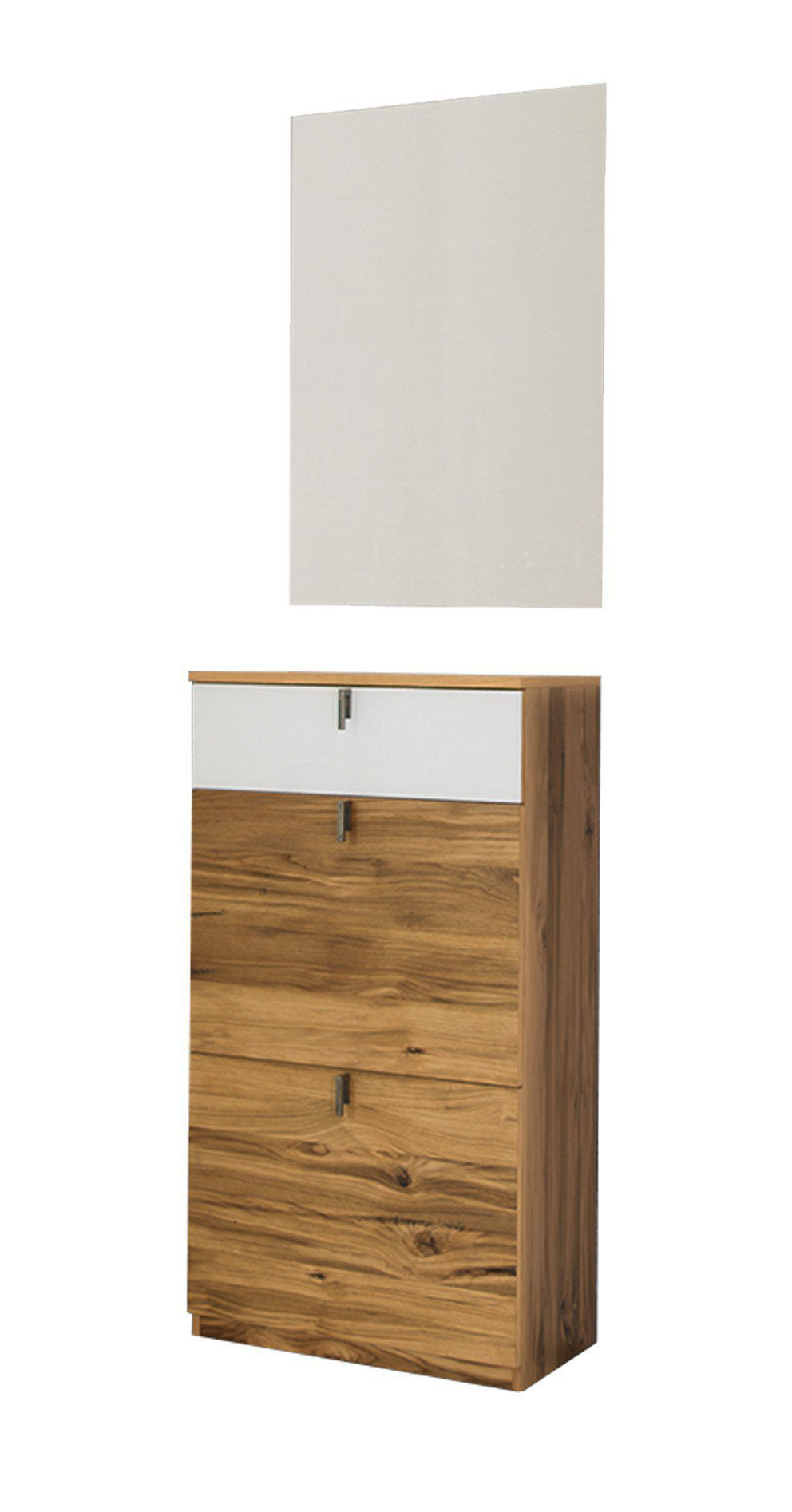garderobe tekla in altholzeiche glas wei von skandinavische m bel m bel letz ihr online shop. Black Bedroom Furniture Sets. Home Design Ideas