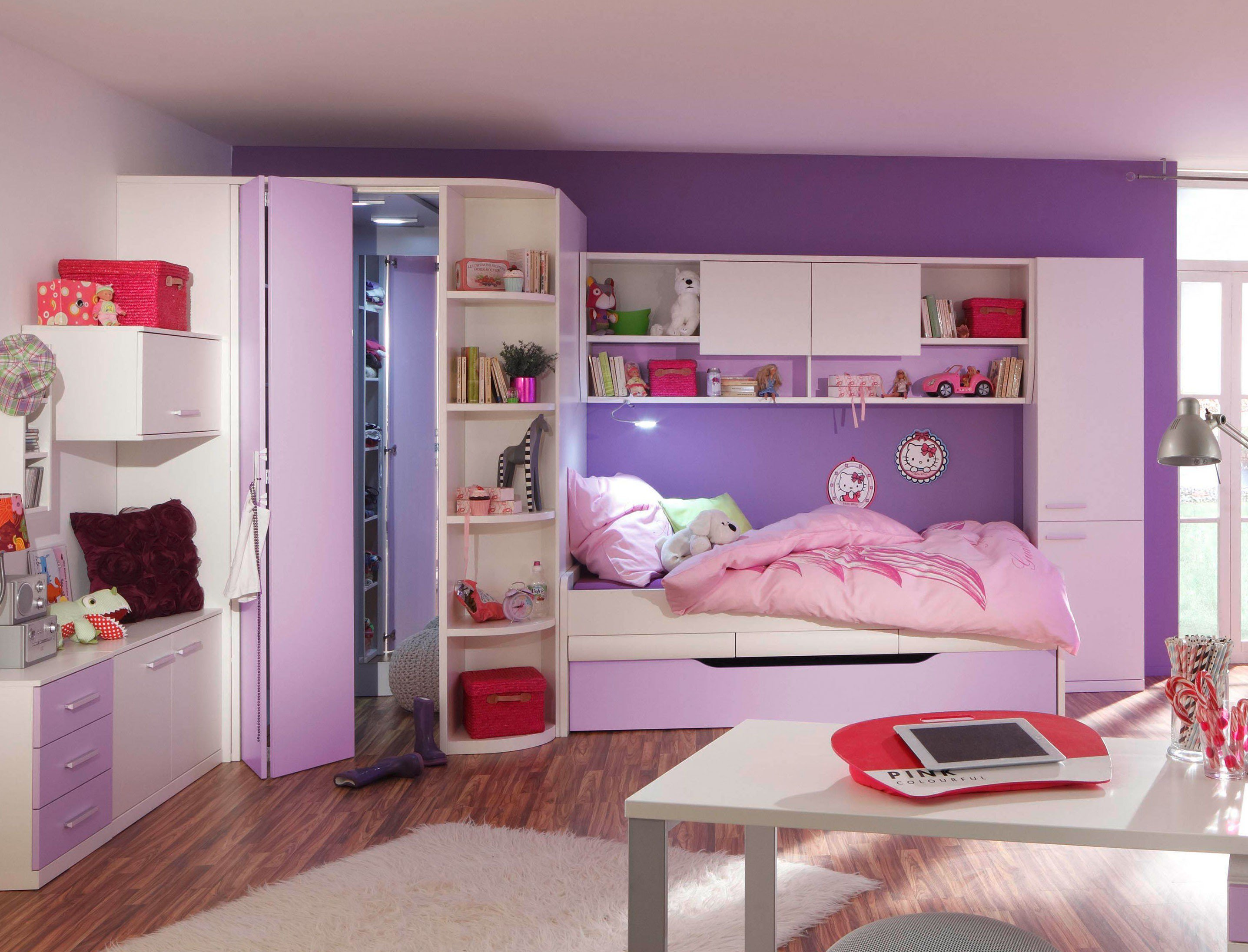 prenneis e t two plus kombi m bel wei rosa m bel letz. Black Bedroom Furniture Sets. Home Design Ideas