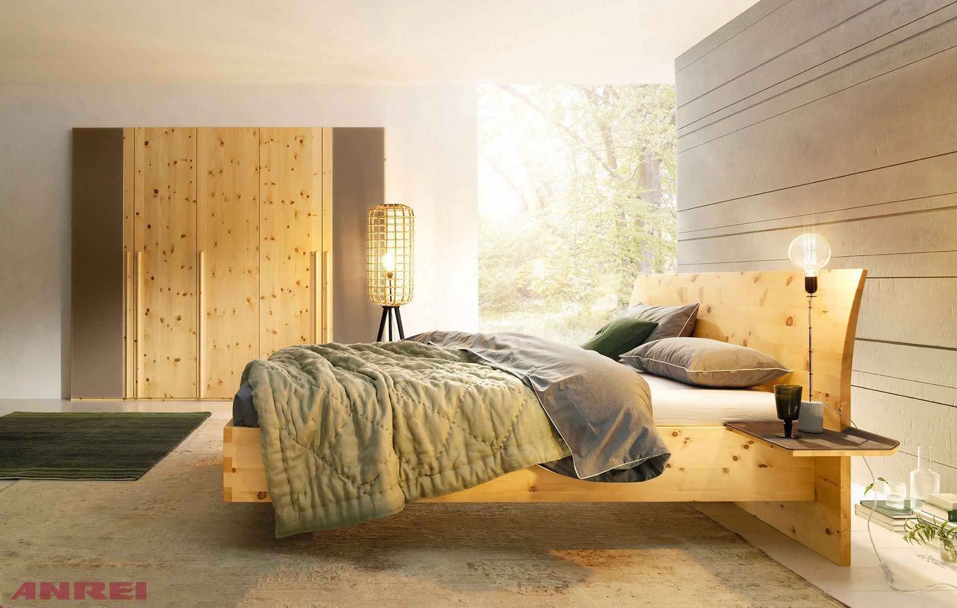 Paso Von ANREI   Komplett Schlafzimmer Zirbe Natur Geölt