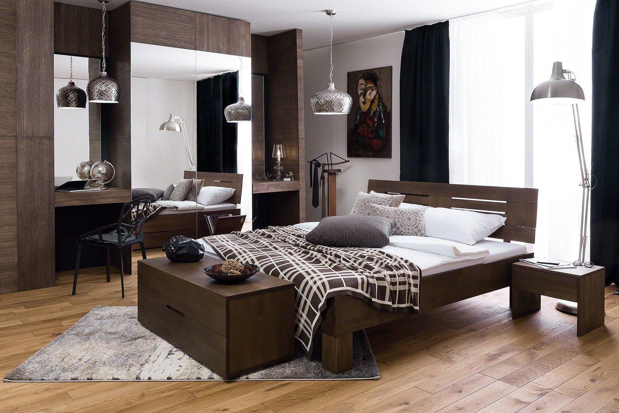 dico m bel holzbett classic buche wenge m bel letz ihr online shop. Black Bedroom Furniture Sets. Home Design Ideas