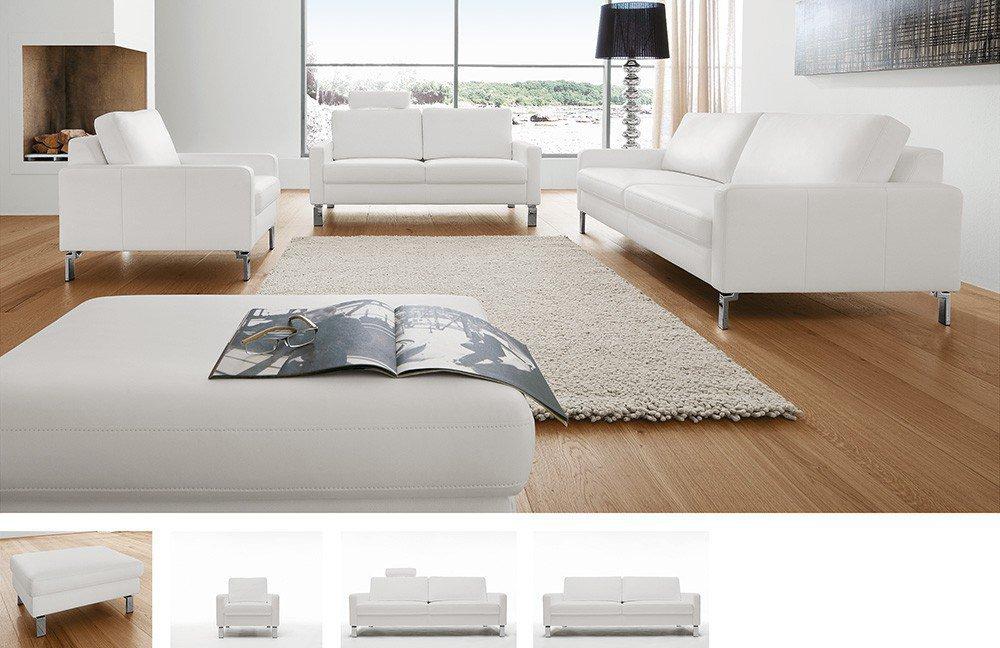 Candy Intermezzo Polstergarnitur in Weiß | Möbel Letz - Ihr Online-Shop