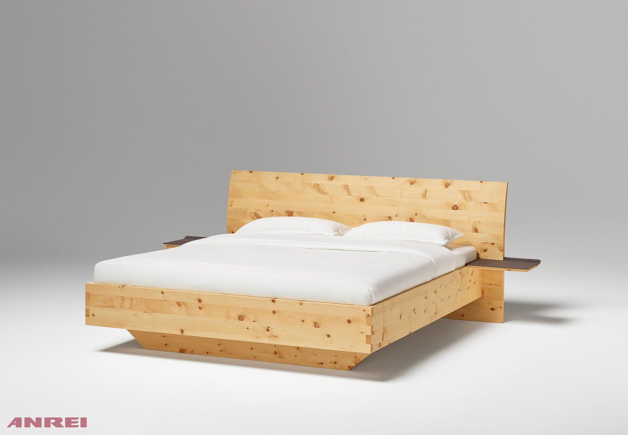 ANREI Paso Bett metallfrei Zirbe geölt | Möbel Letz - Ihr Online-Shop