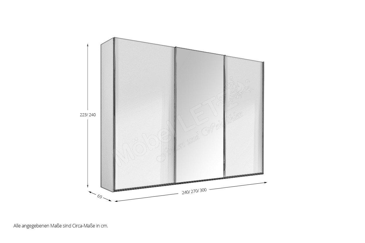 Nolte Schrank concept me 300 fango-Schockoeiche | Möbel ...