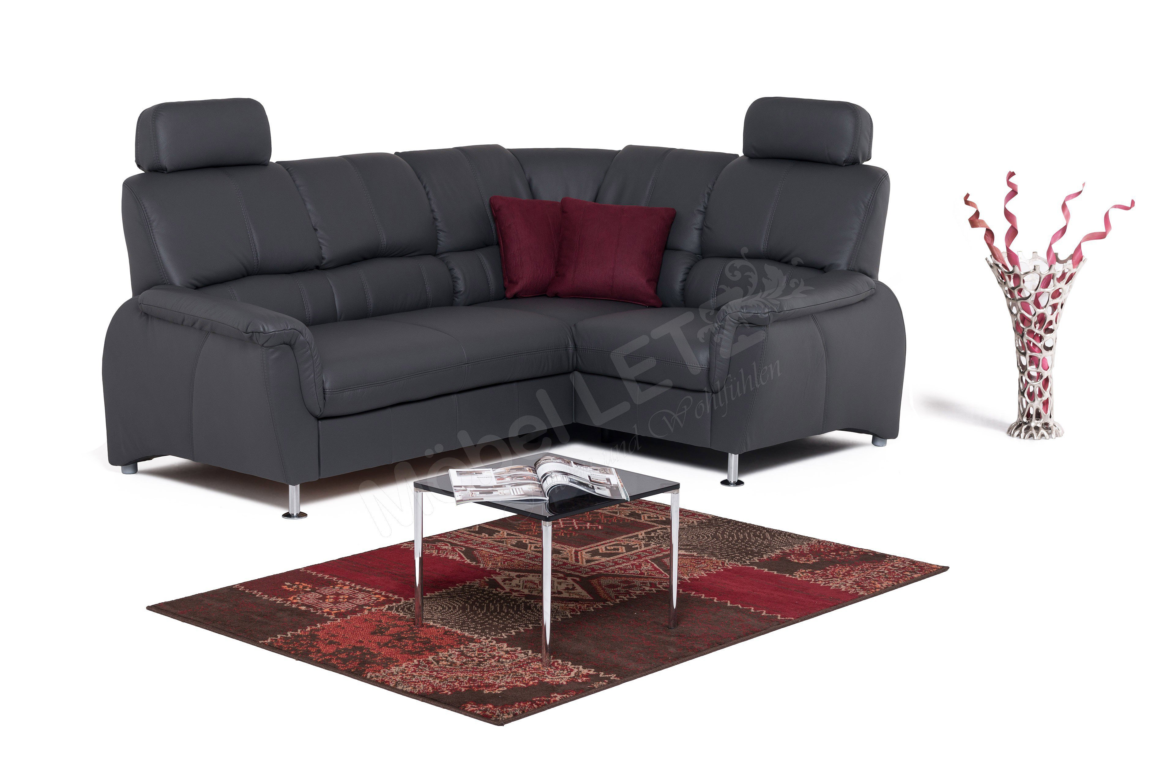 wohnlandschaft geschwungen. Black Bedroom Furniture Sets. Home Design Ideas