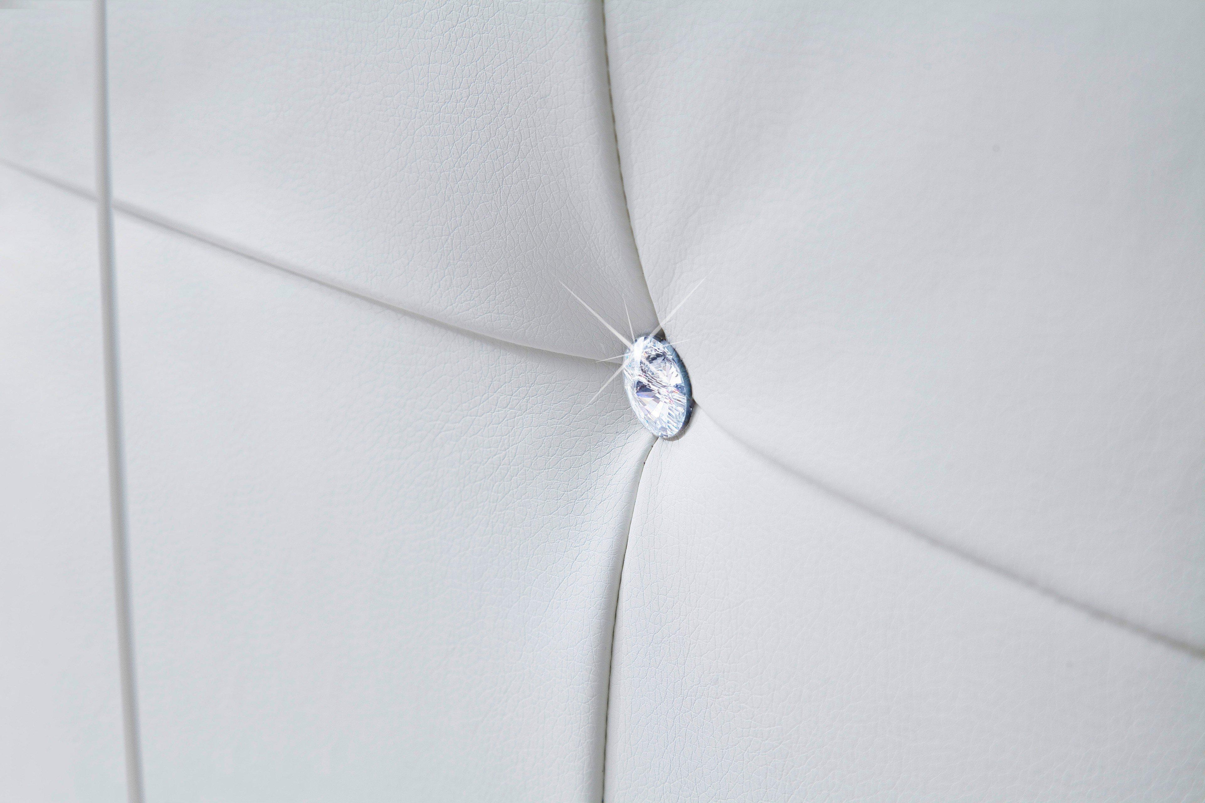 meise polsterbett cristallo mit swarovski kristallen im. Black Bedroom Furniture Sets. Home Design Ideas
