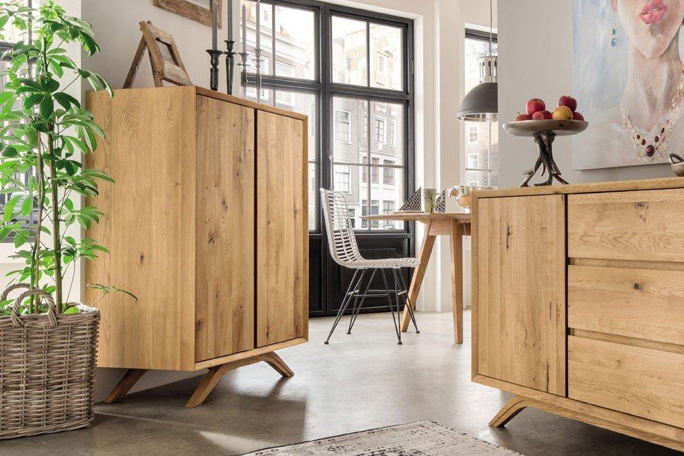 pure natur sideboard kiruna massive wildeiche m bel letz ihr online shop. Black Bedroom Furniture Sets. Home Design Ideas