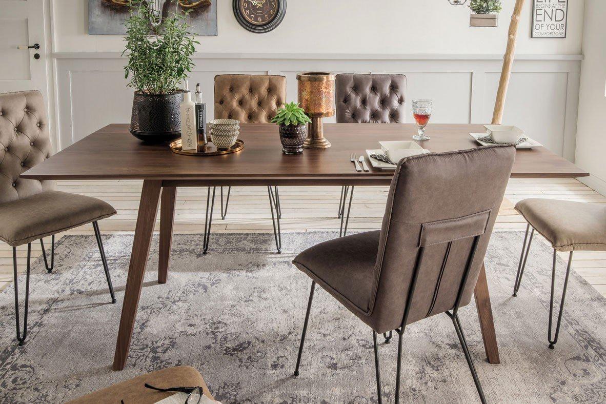 pure natur esstisch ansgar nussbaum massiv m bel letz ihr online shop. Black Bedroom Furniture Sets. Home Design Ideas