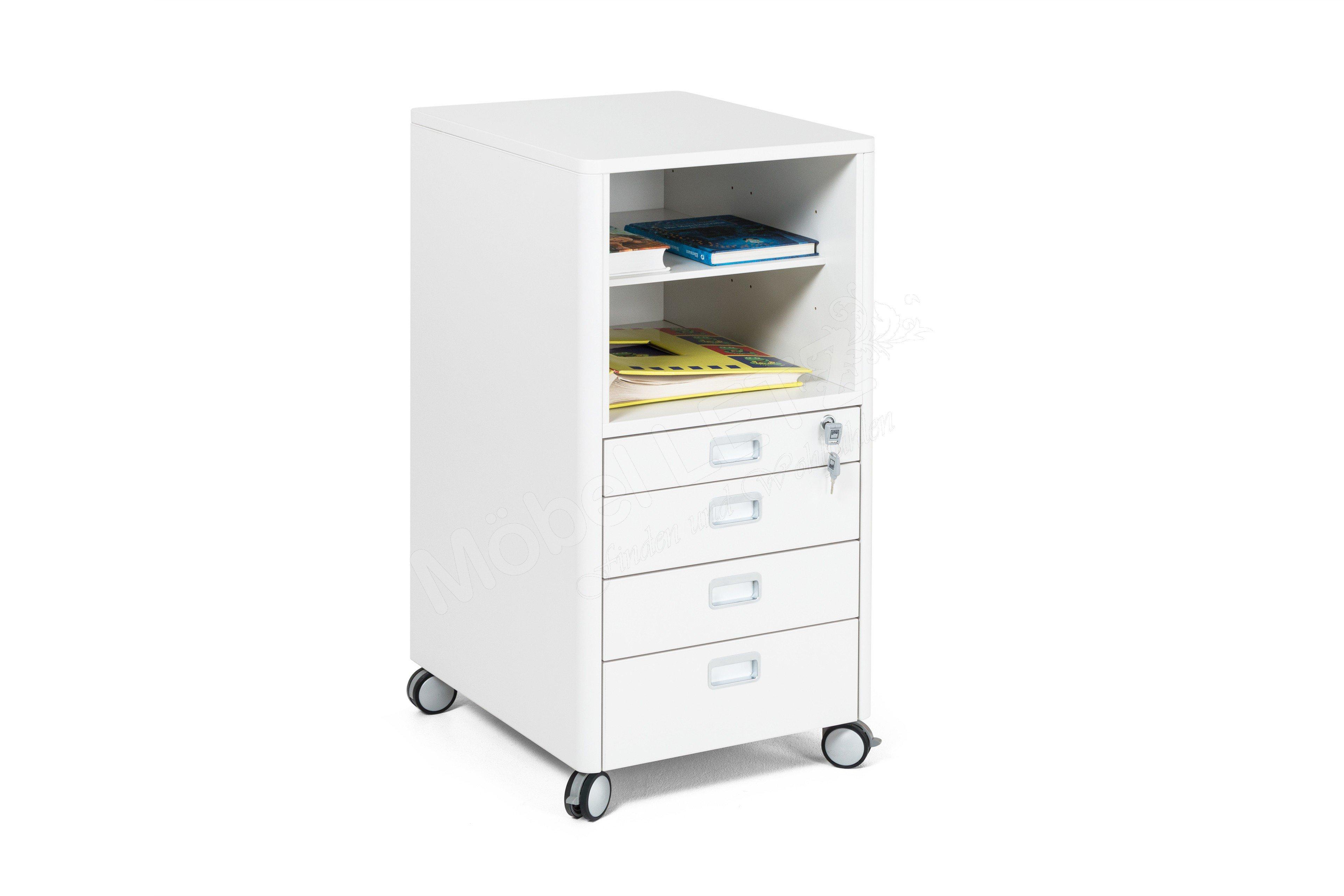 rollcontainer moll champion cubicmax wei m bel letz ihr online shop. Black Bedroom Furniture Sets. Home Design Ideas