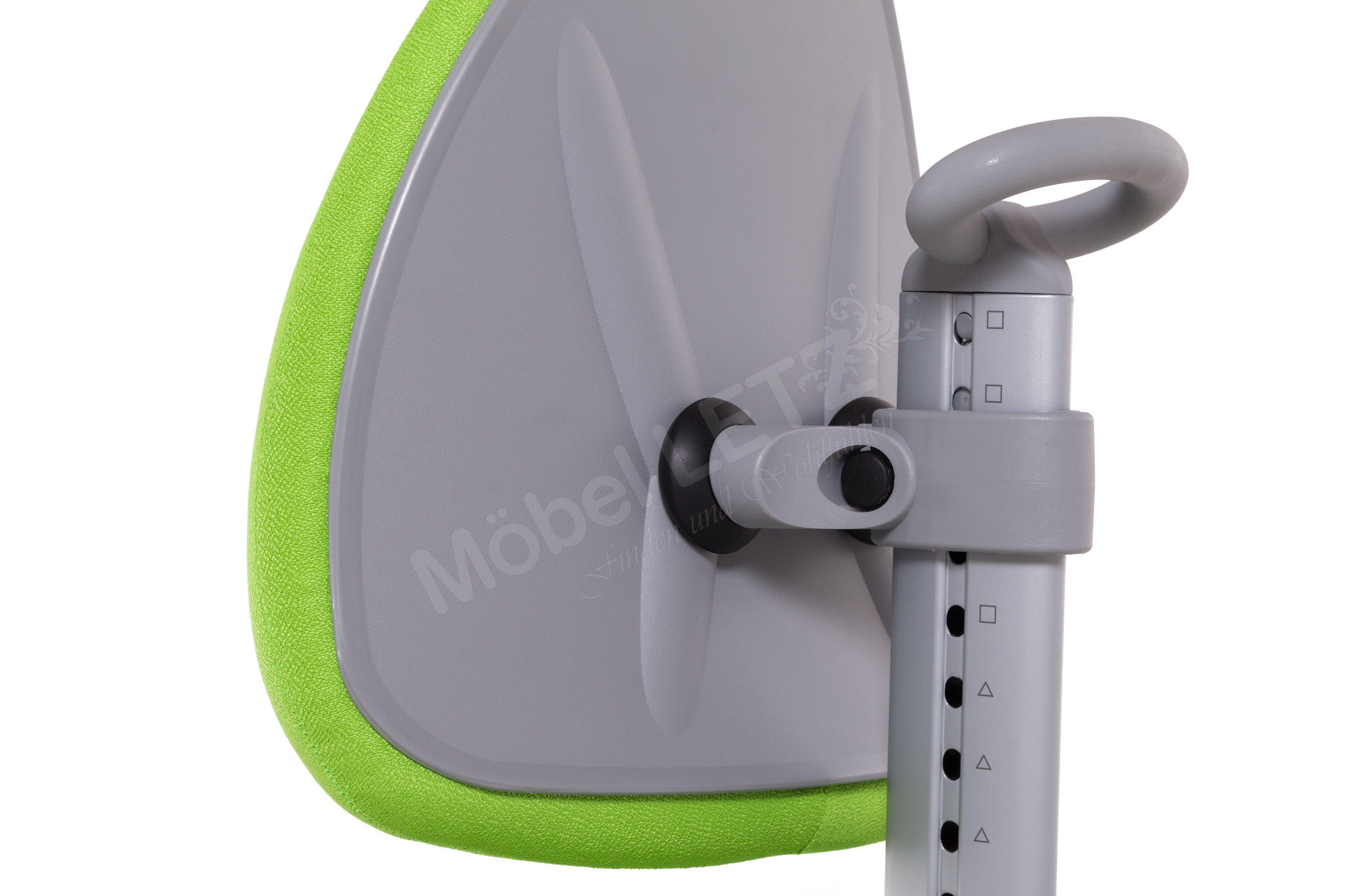 Kinderschreibtischstuhl grün  Maximo moll Drehstuhl Kinder grün grau | Möbel Letz - Ihr Online-Shop