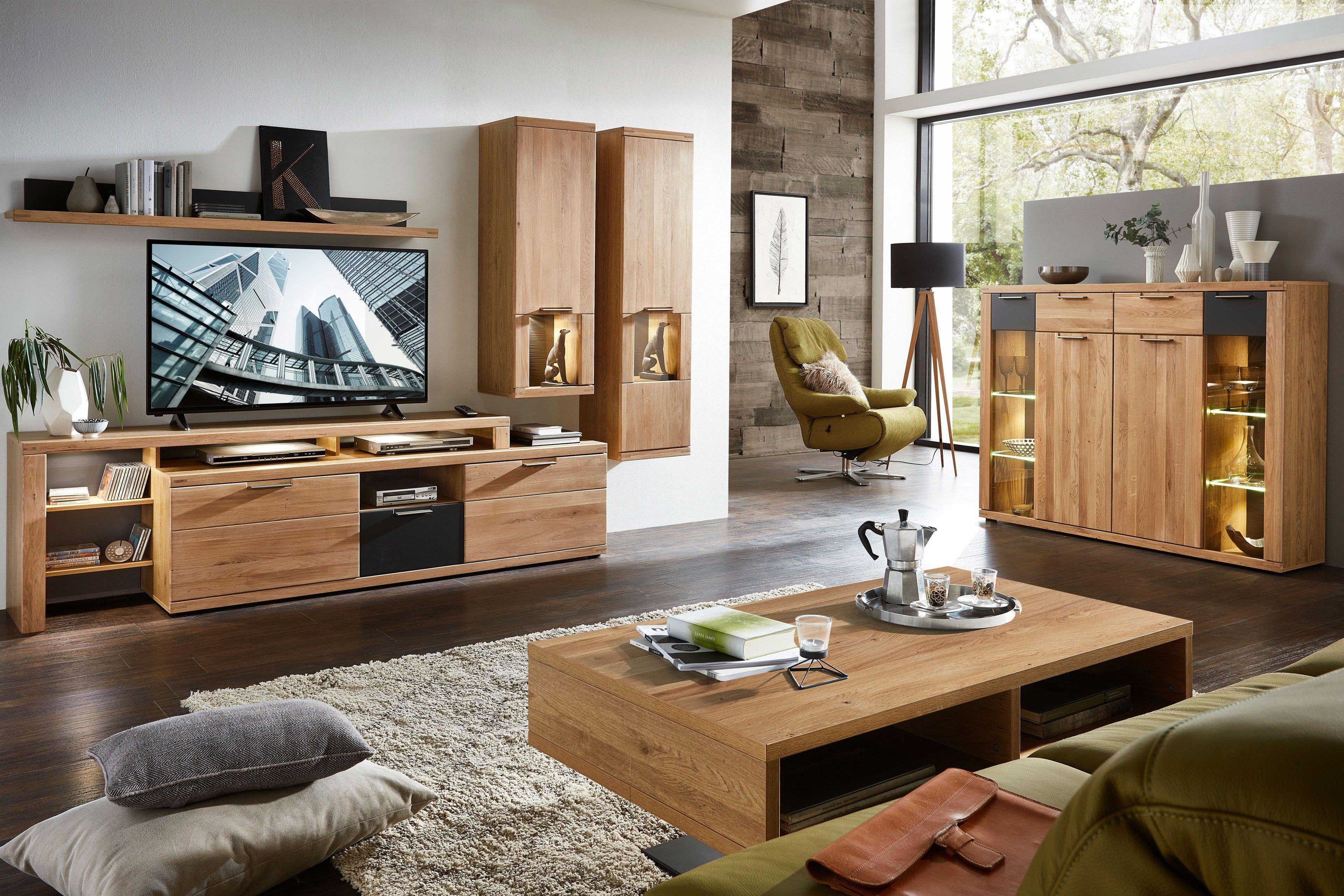 innostyle wohnwand bianco wildeiche bianco m bel letz ihr online shop. Black Bedroom Furniture Sets. Home Design Ideas