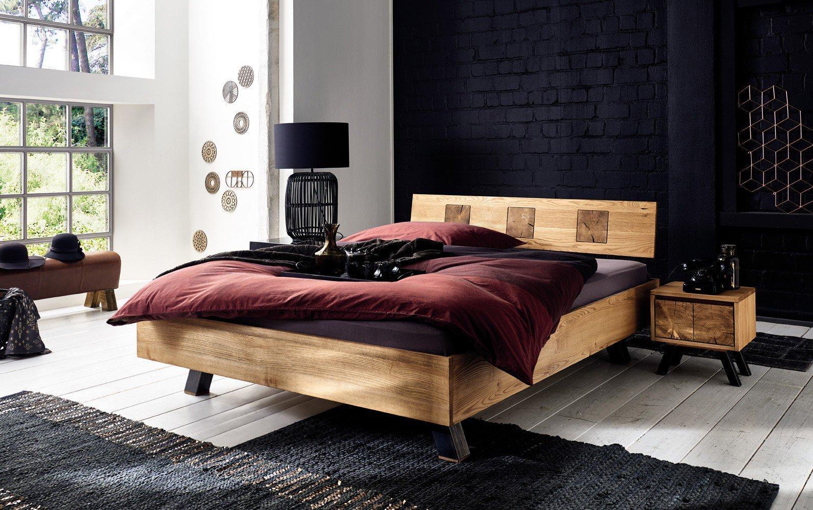 Pure Natur Jari Bett Esche Eiche 180x200 Möbel Letz Ihr Online Shop