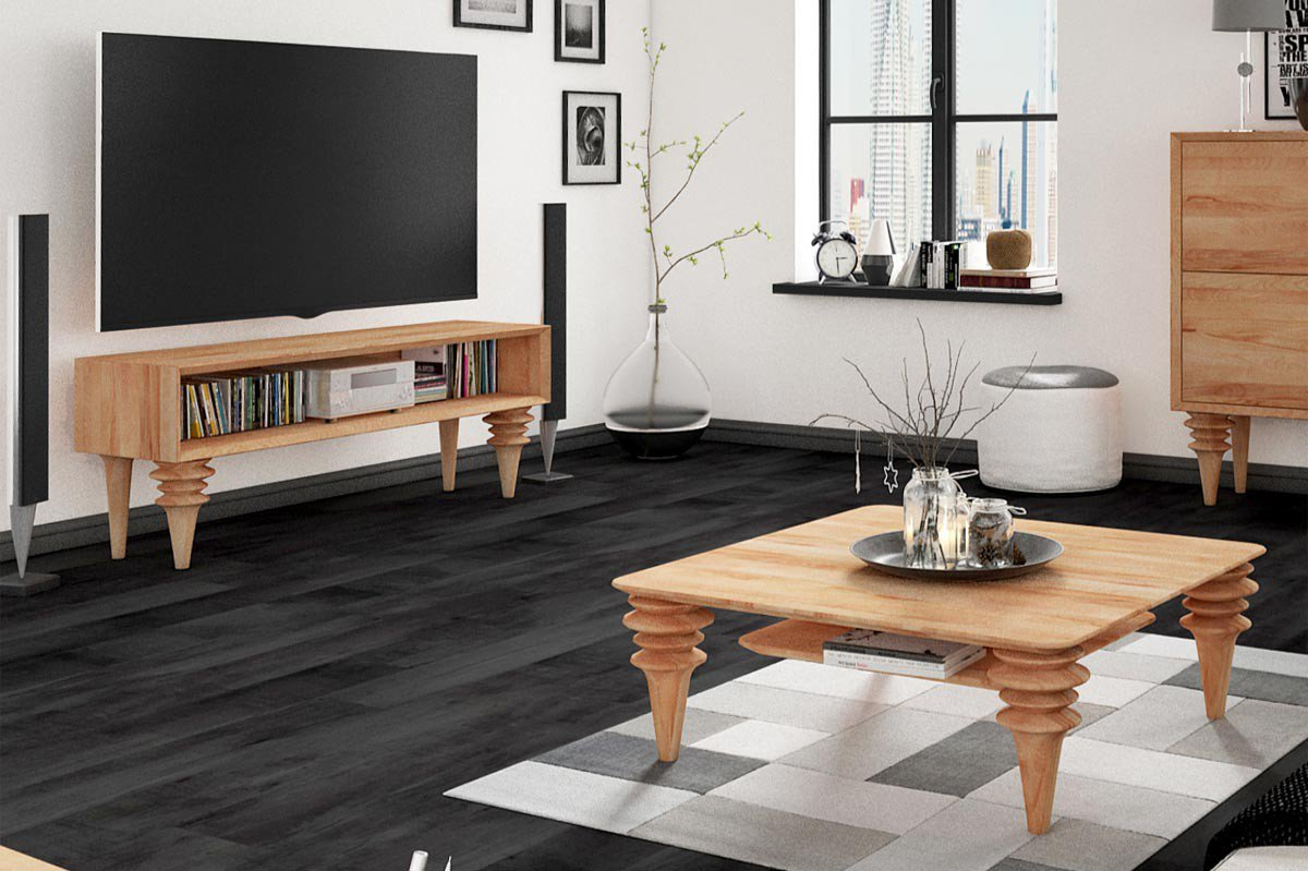 the beds lowboard paris buche natur ge lt m bel letz ihr online shop. Black Bedroom Furniture Sets. Home Design Ideas