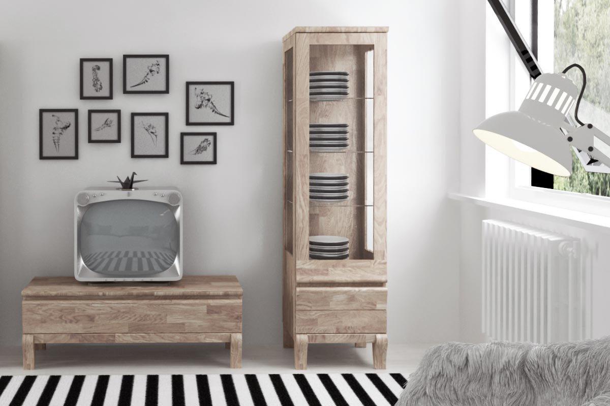The Beds Lowboard Bona Eiche Weiss Geolt Mobel Letz Ihr Online Shop