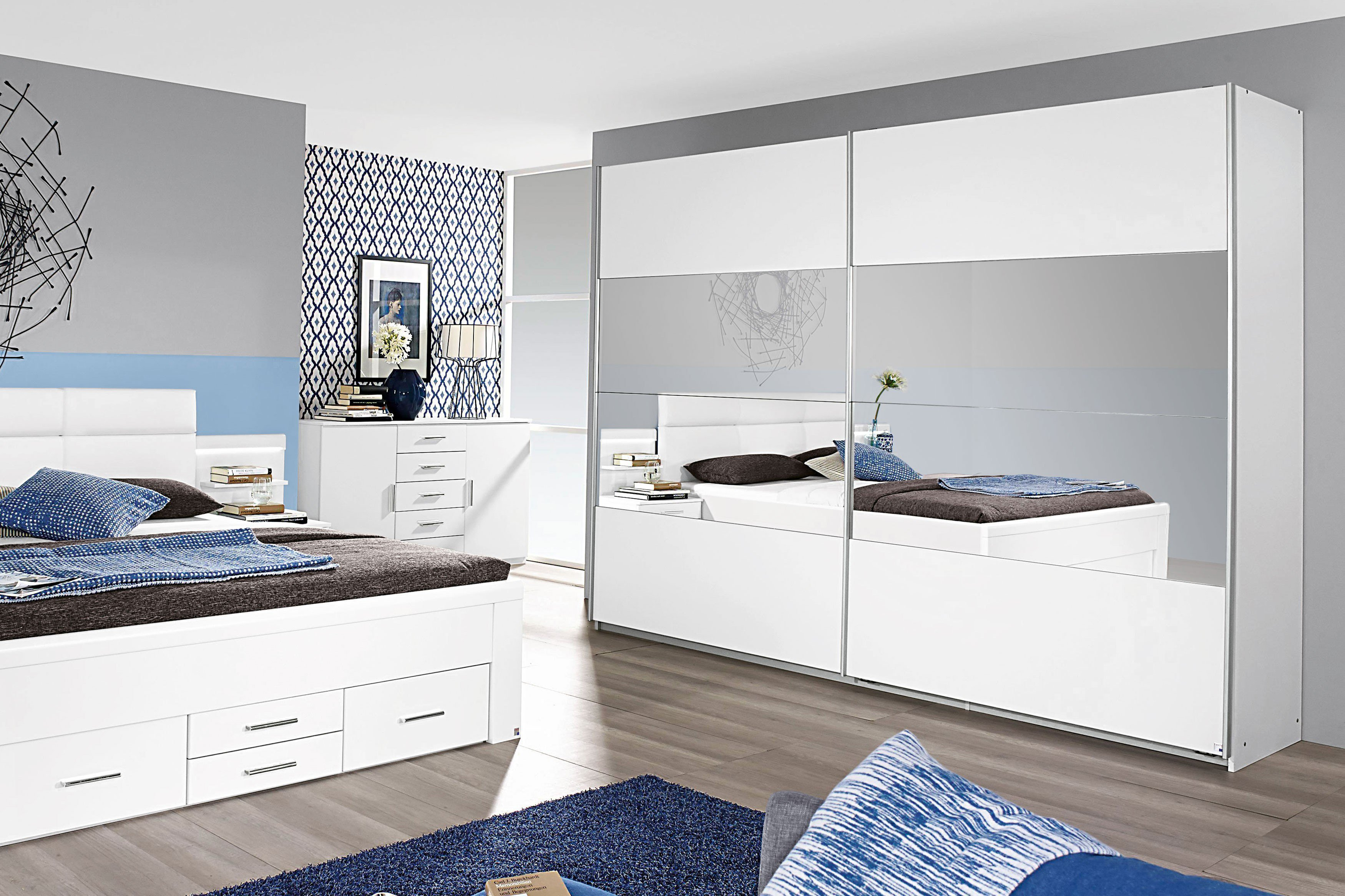 rauch quadra schwebet renschrank wei spiegel m bel letz ihr online shop. Black Bedroom Furniture Sets. Home Design Ideas
