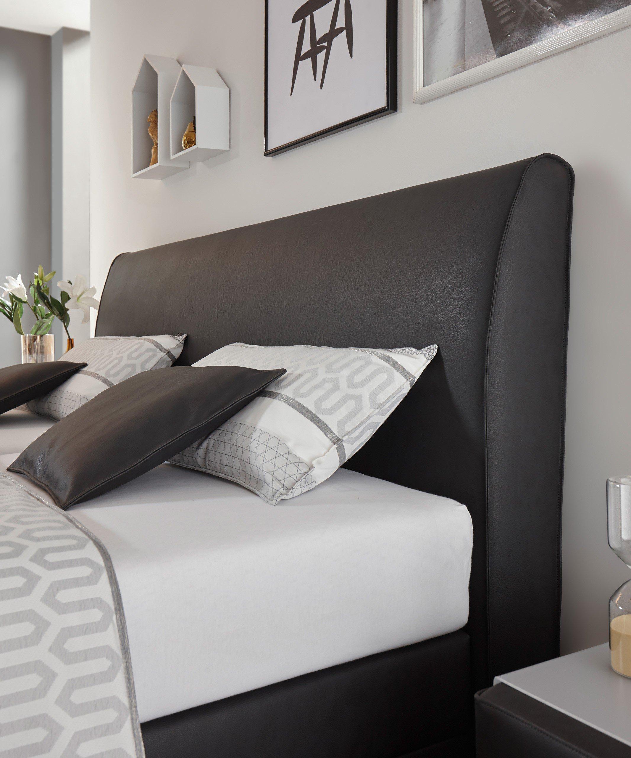 boxspringbett mercata anthrazit von ruf motorisch m bel. Black Bedroom Furniture Sets. Home Design Ideas