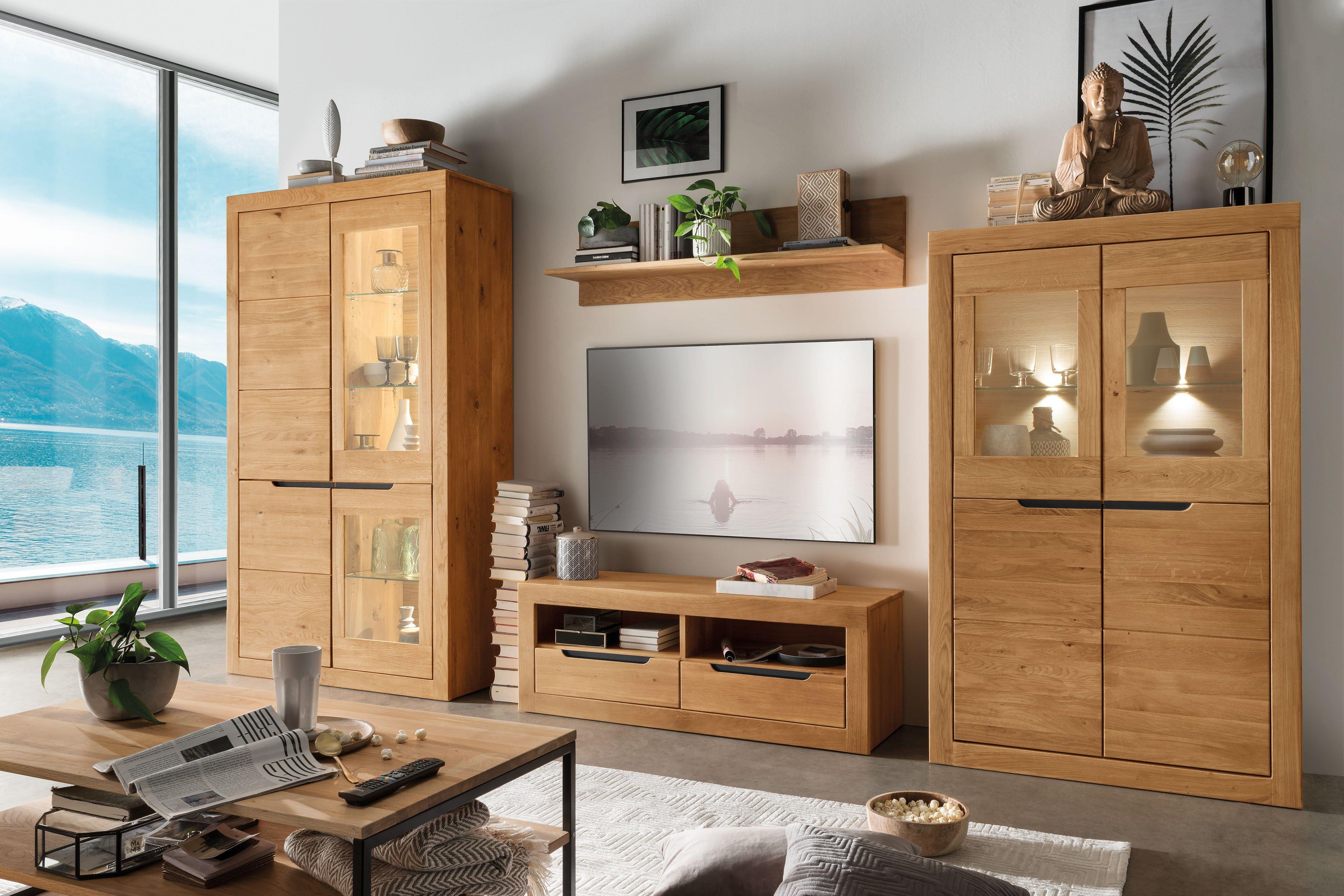 pure natur wohnwand s nke wildeiche massiv m bel letz ihr online shop. Black Bedroom Furniture Sets. Home Design Ideas