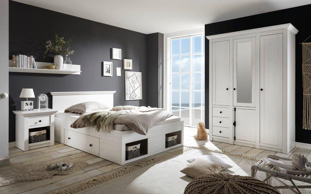 imv steinheim westerland schlafzimmer wei m bel letz. Black Bedroom Furniture Sets. Home Design Ideas