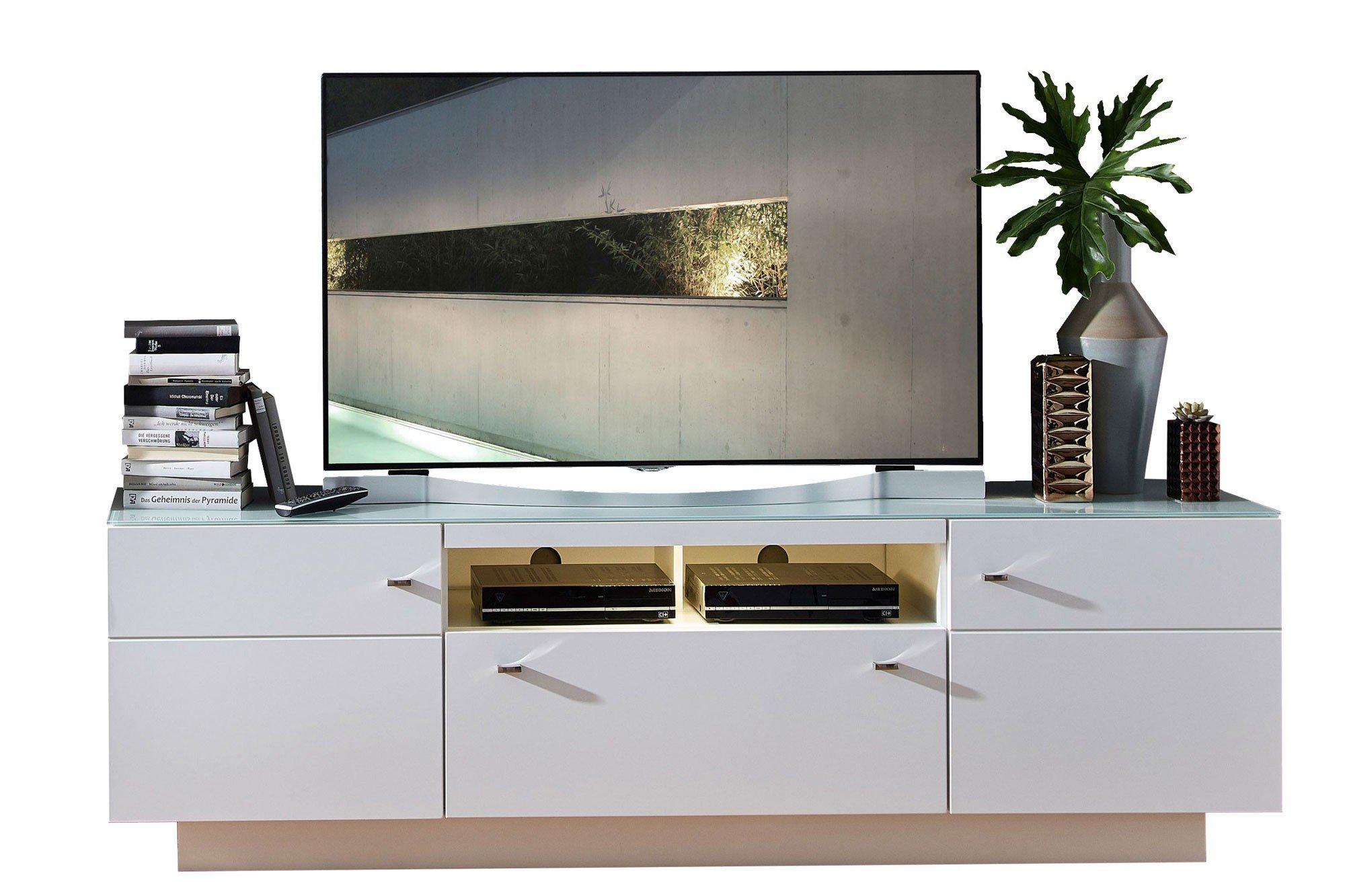 Innostyle Lowboard Durban weiß matt | Möbel Letz - Ihr Online-Shop