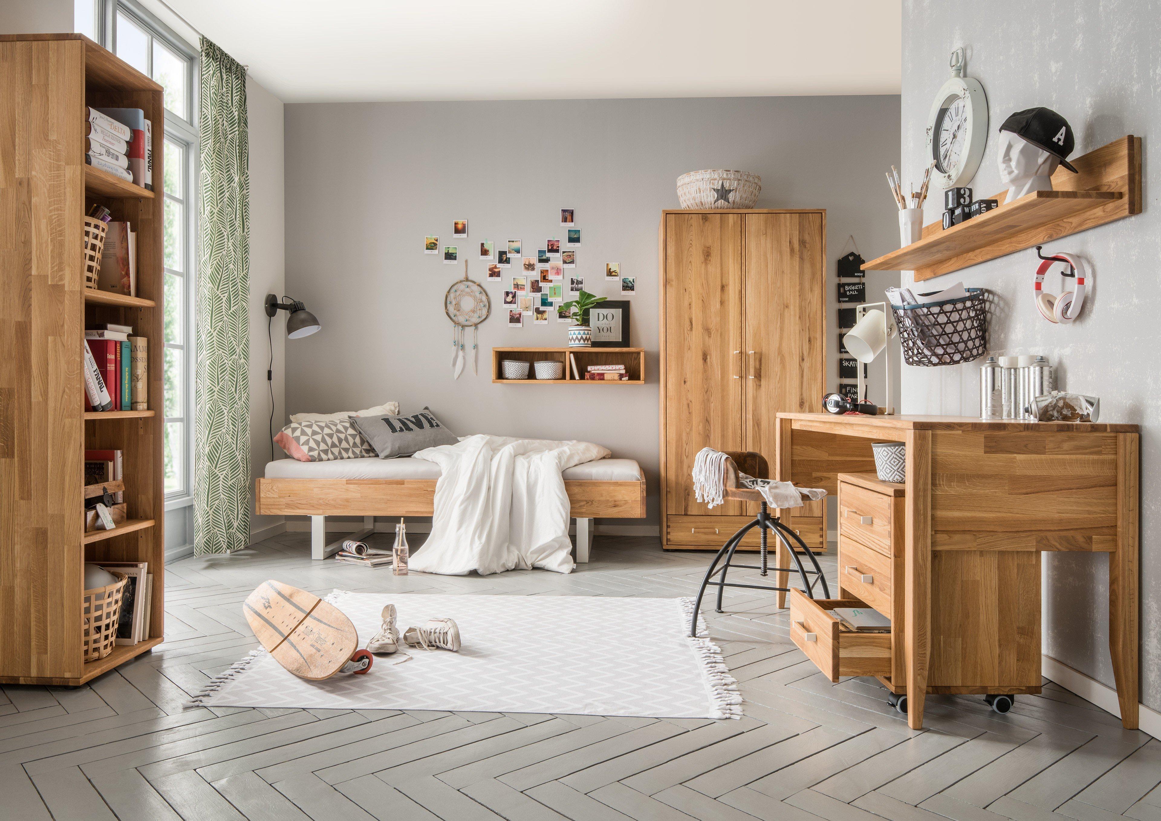 skalik mido jugendzimmer eiche massiv natur m bel letz. Black Bedroom Furniture Sets. Home Design Ideas