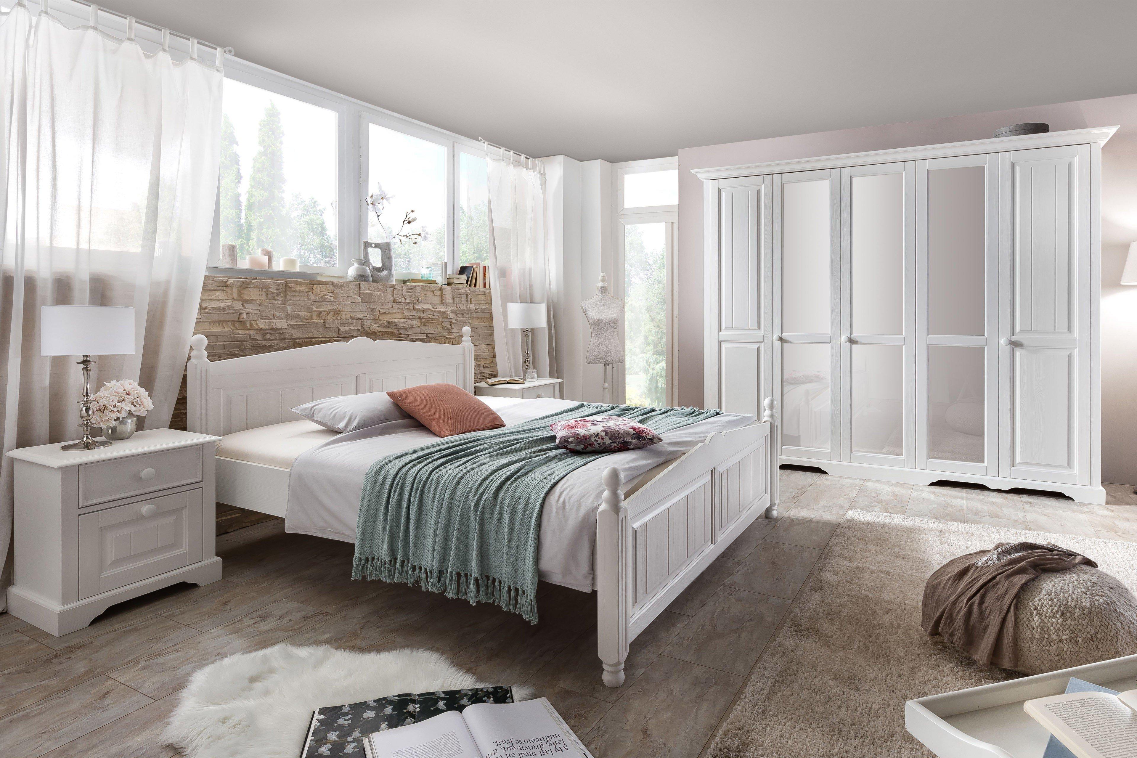 Pisa Von Telmex   Schlafzimmer Set Weiß Im Landhausstil