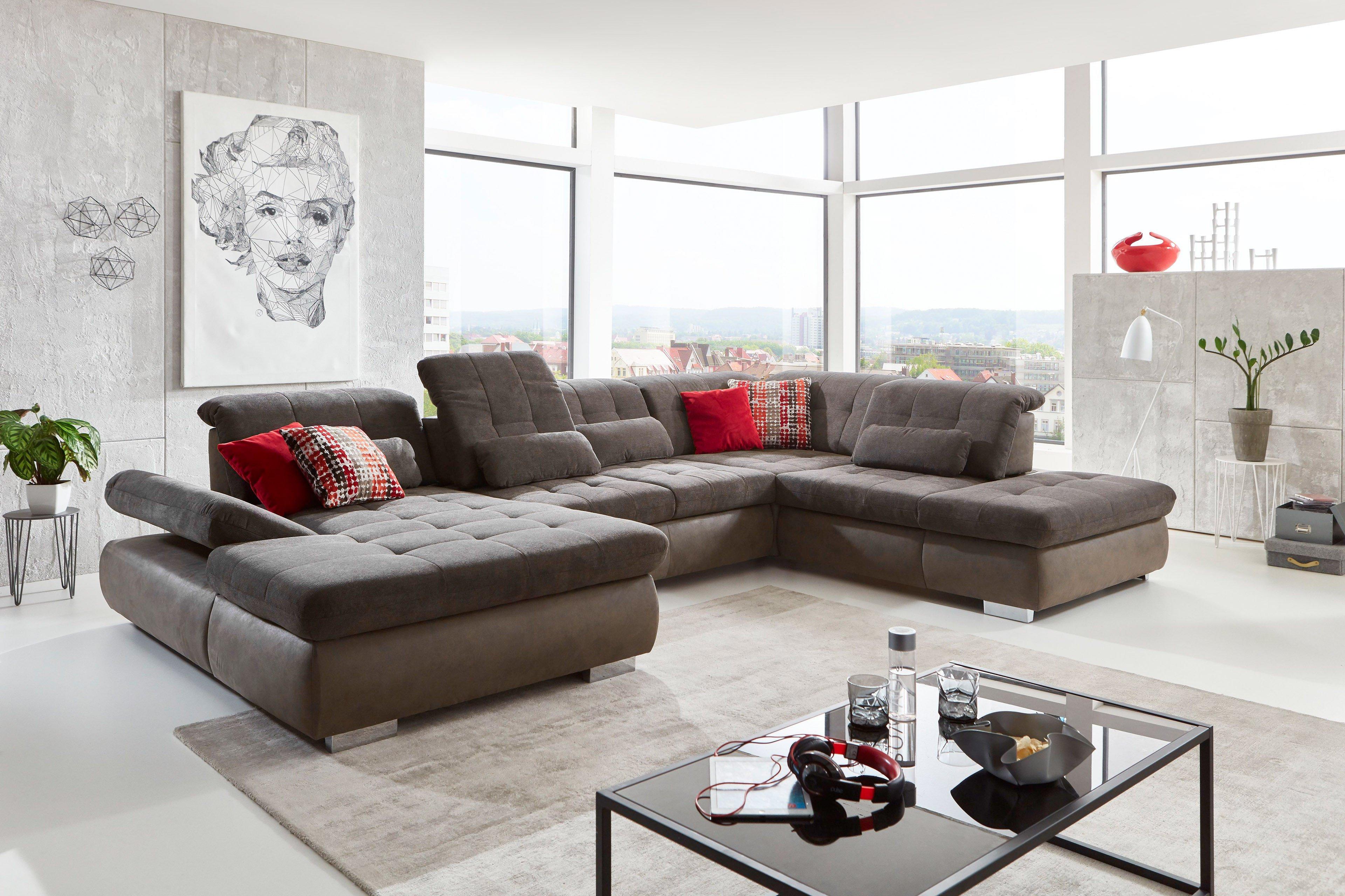 Megapol Stage XXL-Sofa anthrazit-slate | Möbel Letz - Ihr Online-Shop