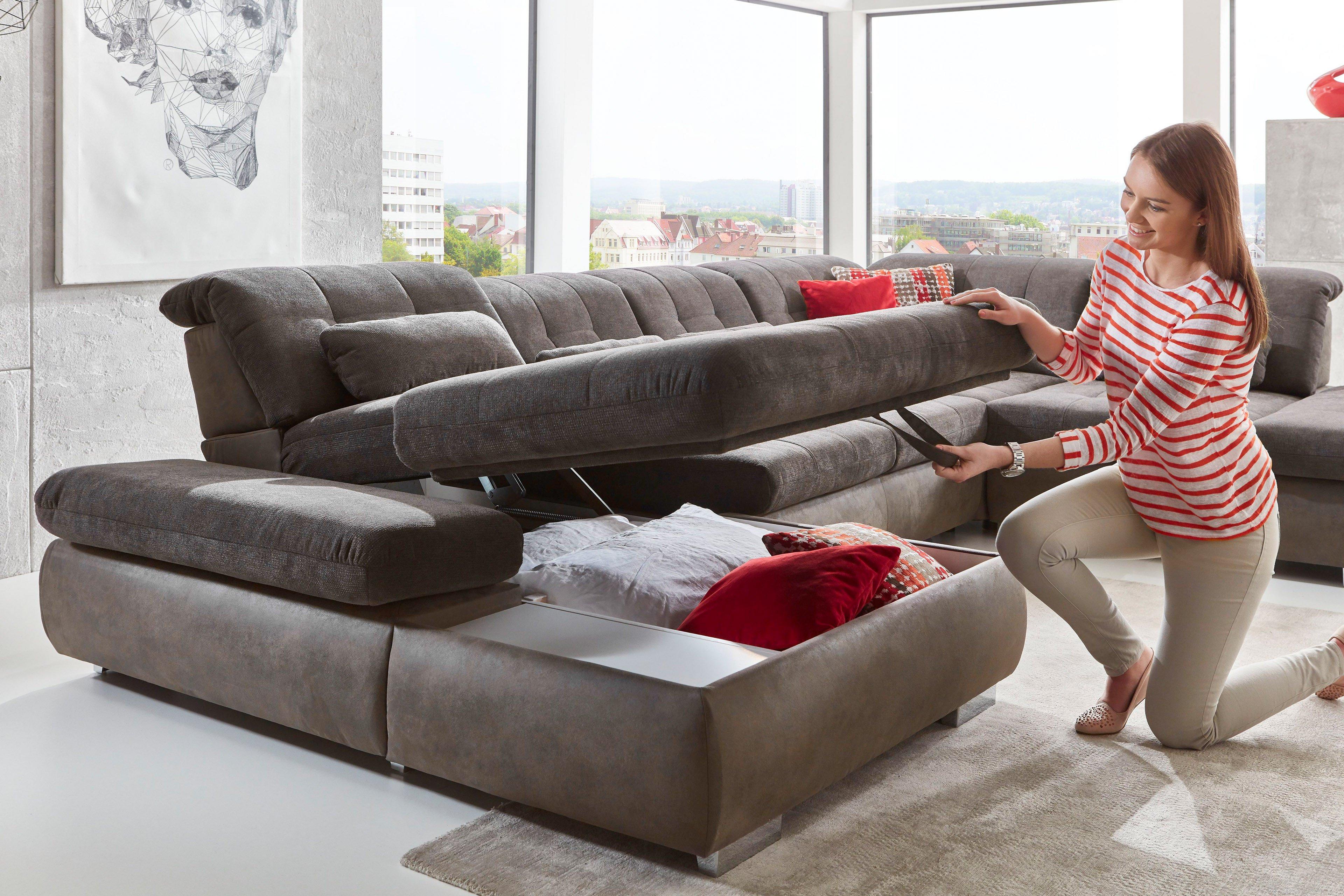 megapol stage xxl sofa anthrazit slate m bel letz ihr online shop. Black Bedroom Furniture Sets. Home Design Ideas