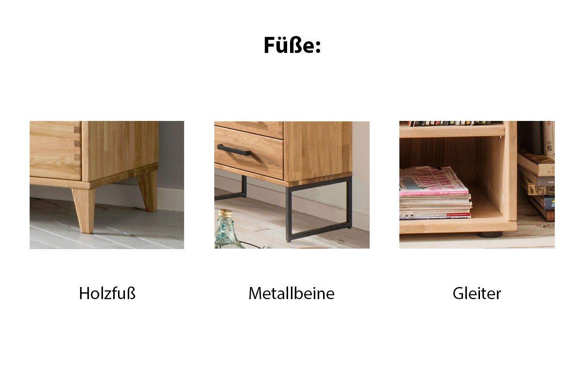 skalik garderobe mido eiche bianco massiv m bel letz ihr online shop. Black Bedroom Furniture Sets. Home Design Ideas