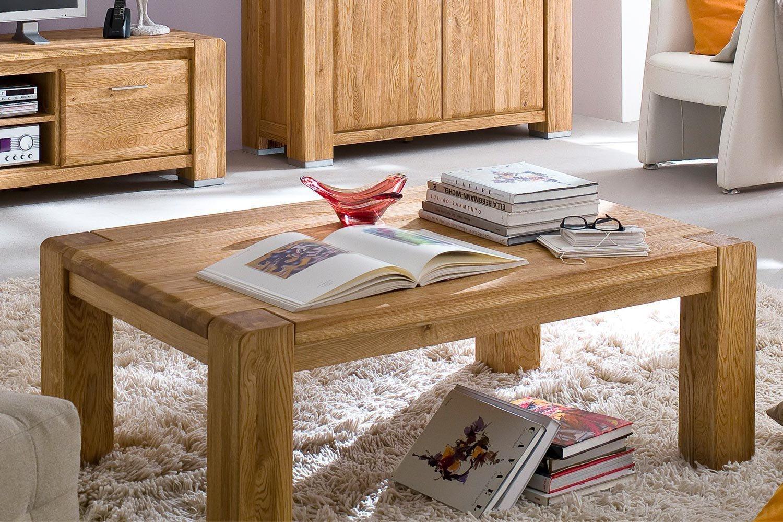 skalik wohnwand salvador eiche massiv natur ge lt m bel. Black Bedroom Furniture Sets. Home Design Ideas