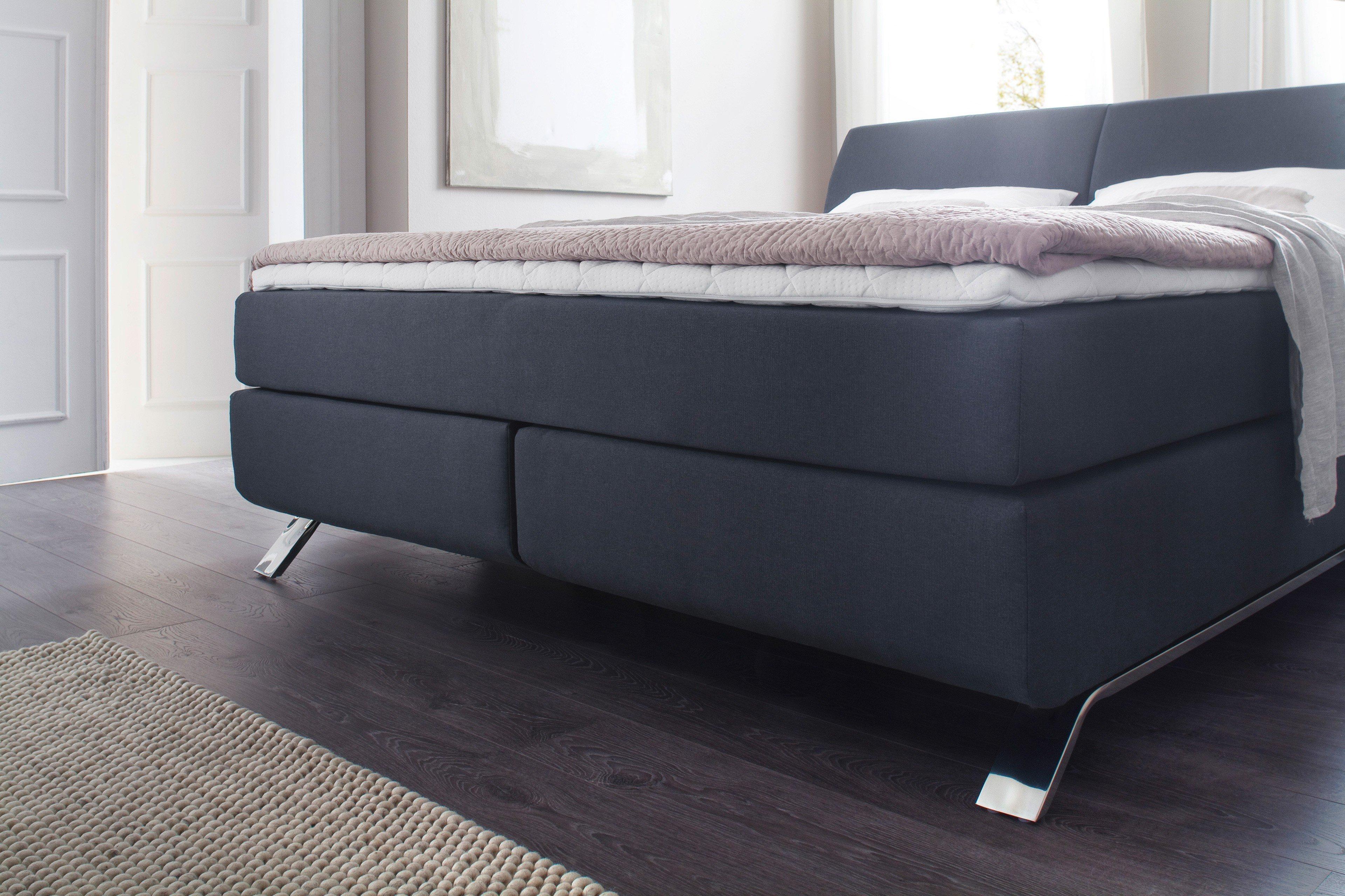 meise boxspringbett imola anthrazit mit metallkufen m bel letz ihr online shop. Black Bedroom Furniture Sets. Home Design Ideas