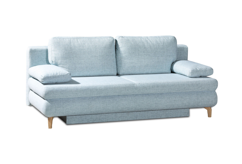 Schlafsofas 140x200 schlafzimmer blau streichen for Schlafsofa 140x200 bettkasten